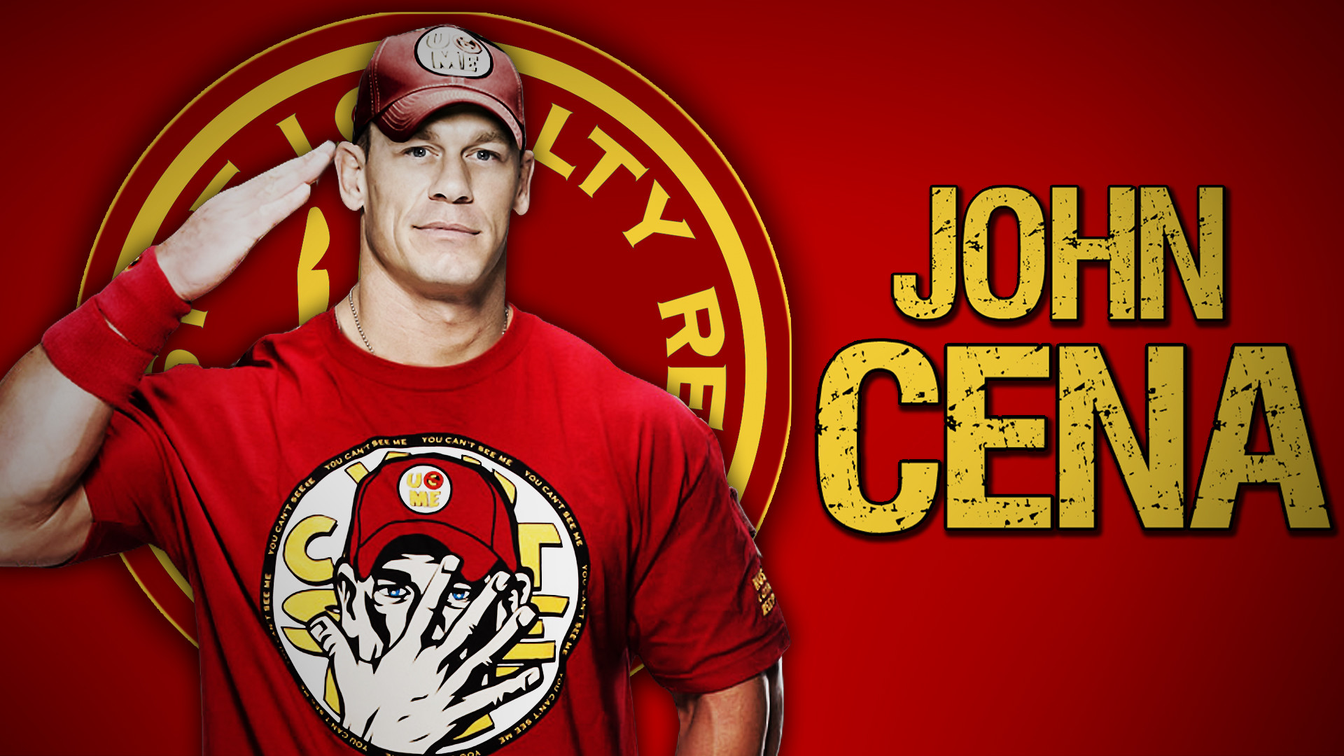 john cena John felix anthony cena jr (/ ˈ s iː n ə / born april 23, 1977) is an american professional wrestler, philanthropist and actorhe is currently signed to wwe, where he is a free agent who appears for both the raw and smackdown brands.