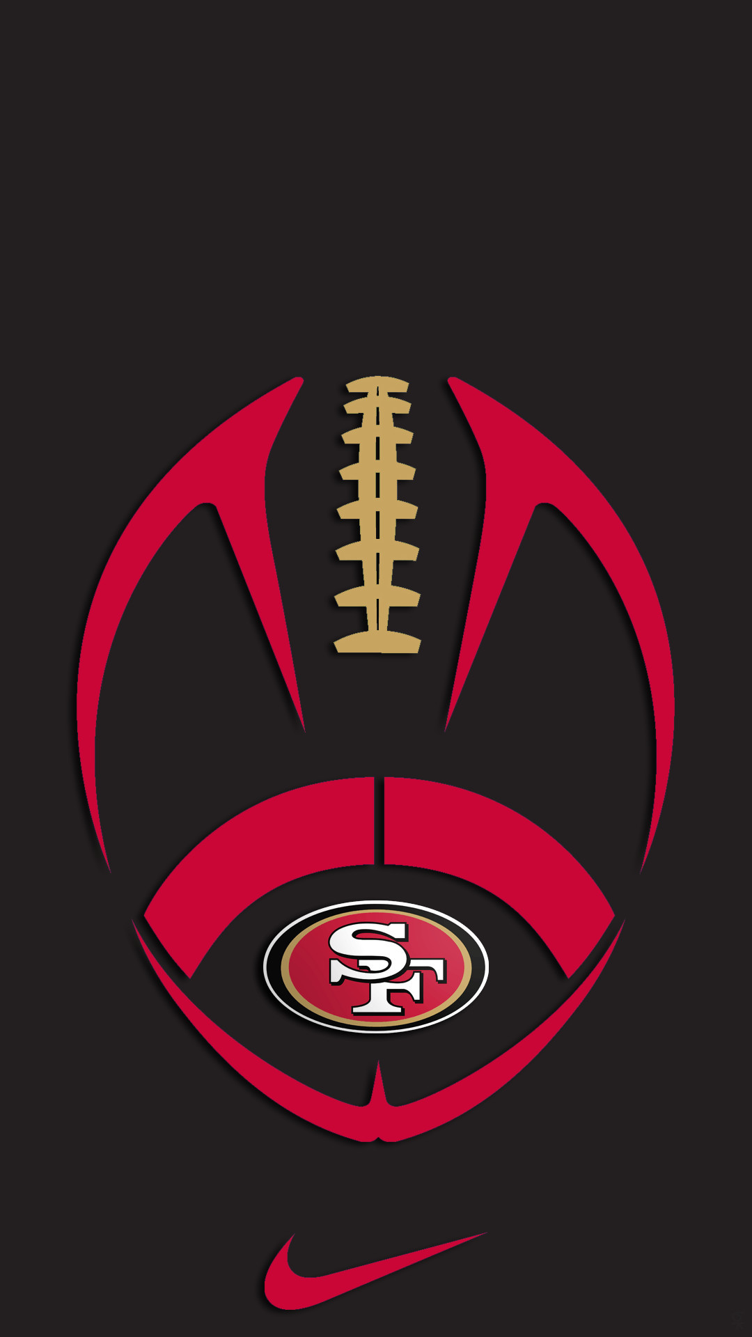 San francisco 49ers wallpaper for iphone 6 impremedia sf 49ers wallpaper 69 images voltagebd Choice Image