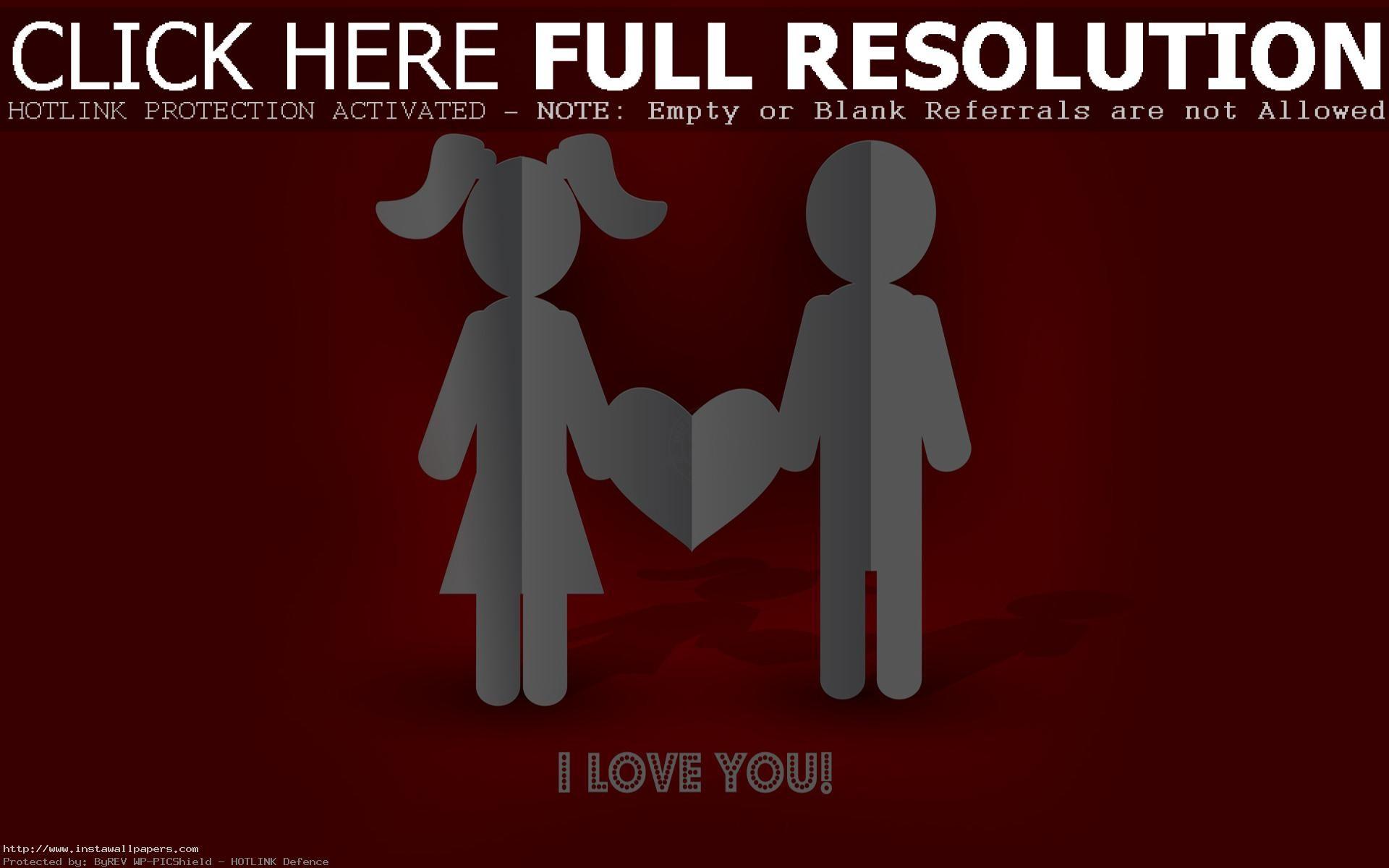 1920x1080 hd pics photos red heart love 3d hd desktop background wallpaper · Download