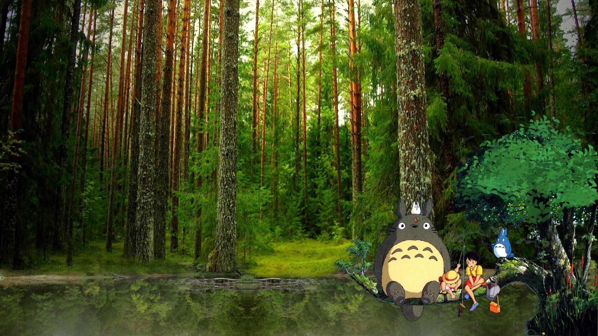 Neighbors Wallpaper Totoro Backgrou...