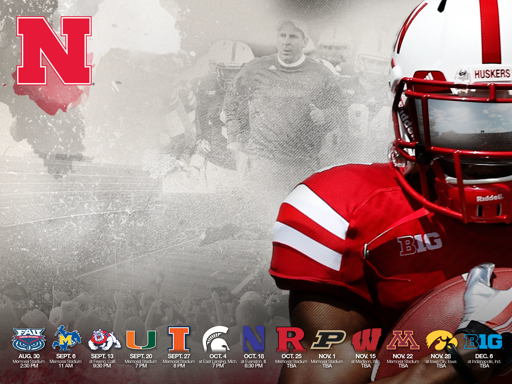 Nebraska husker wallpaper 81 images - Nebraska football wallpaper ...