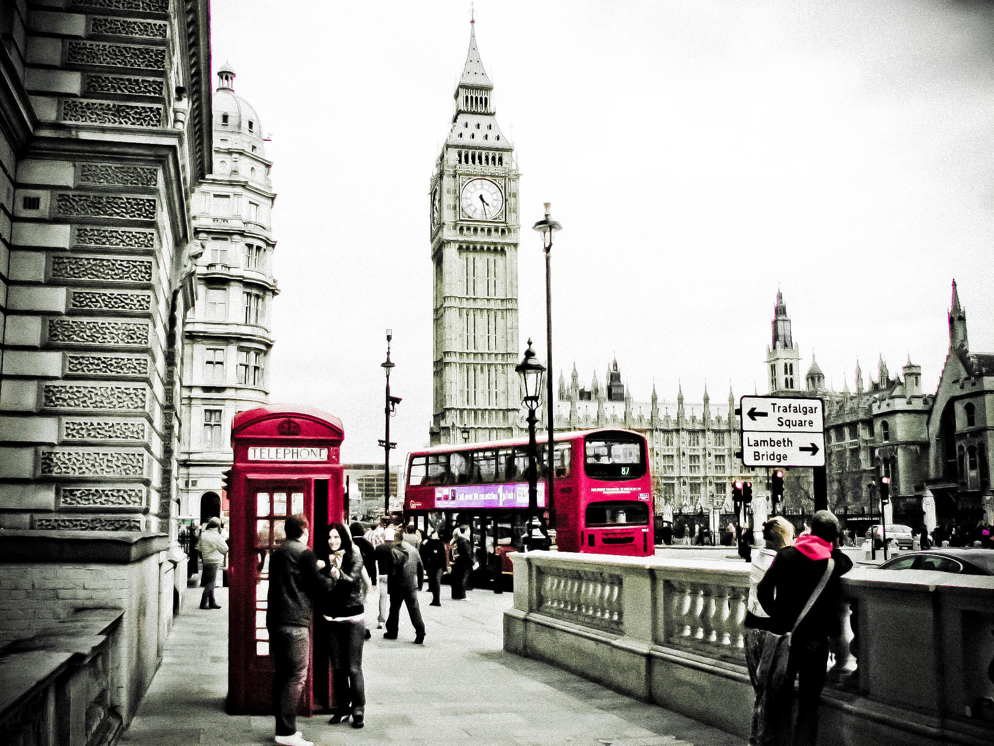 Black And White London Wallpaper (58+ Images