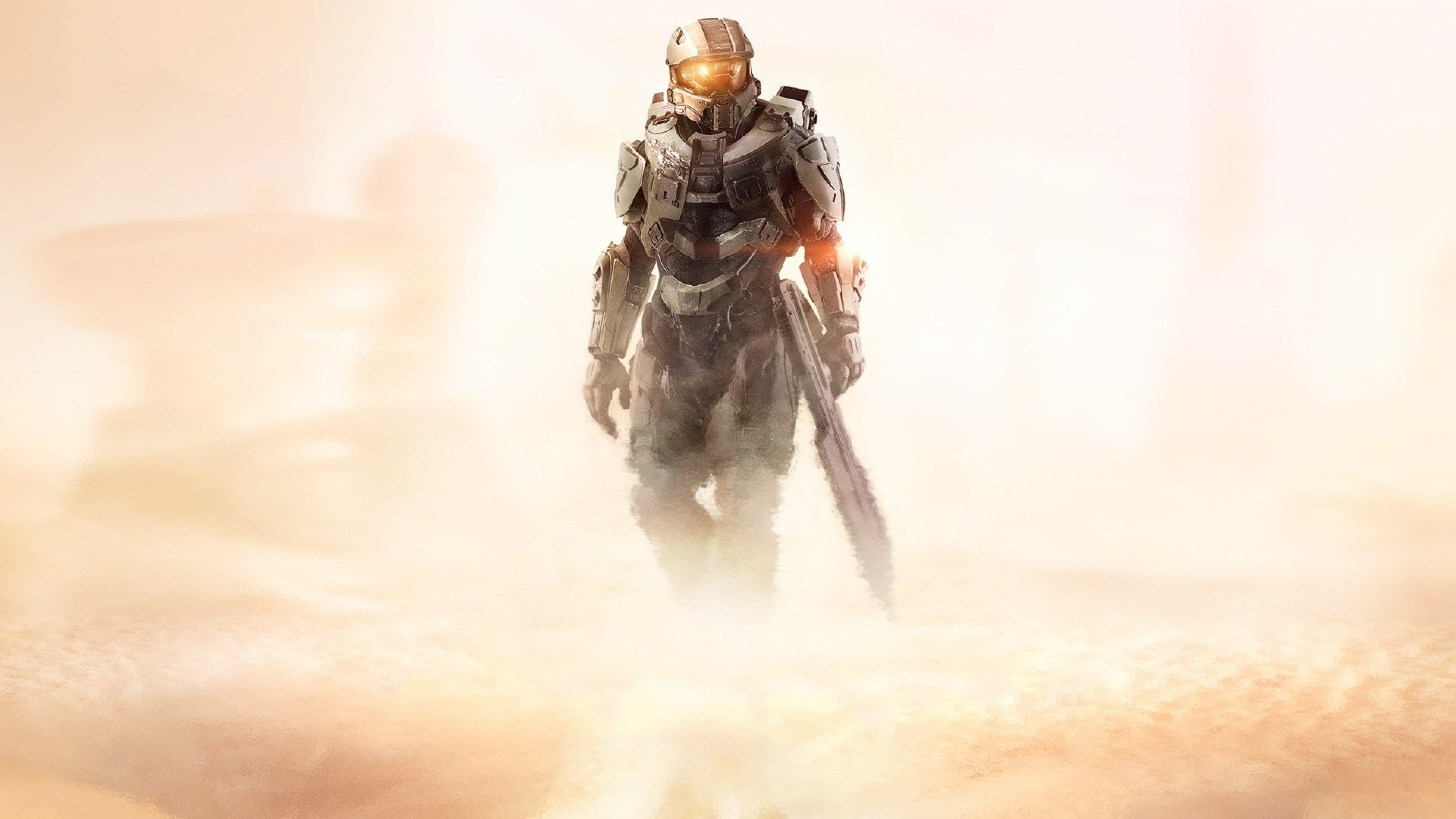 3840x2160 Preview wallpaper halo 5, guardians, master chief, john, halo
