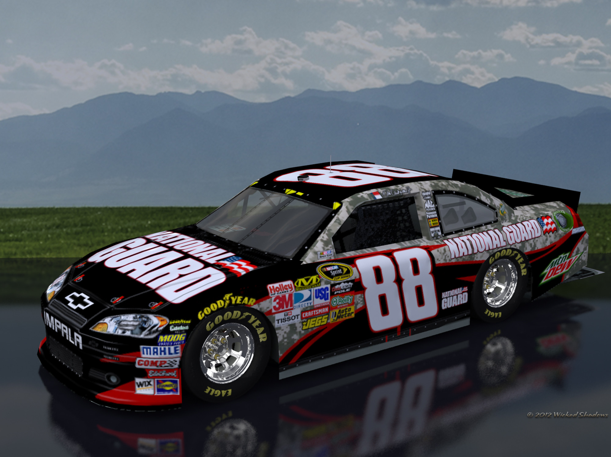 2000x1498 ... wallpapers by wicked shadows dale earnhardt jr national guard ...
