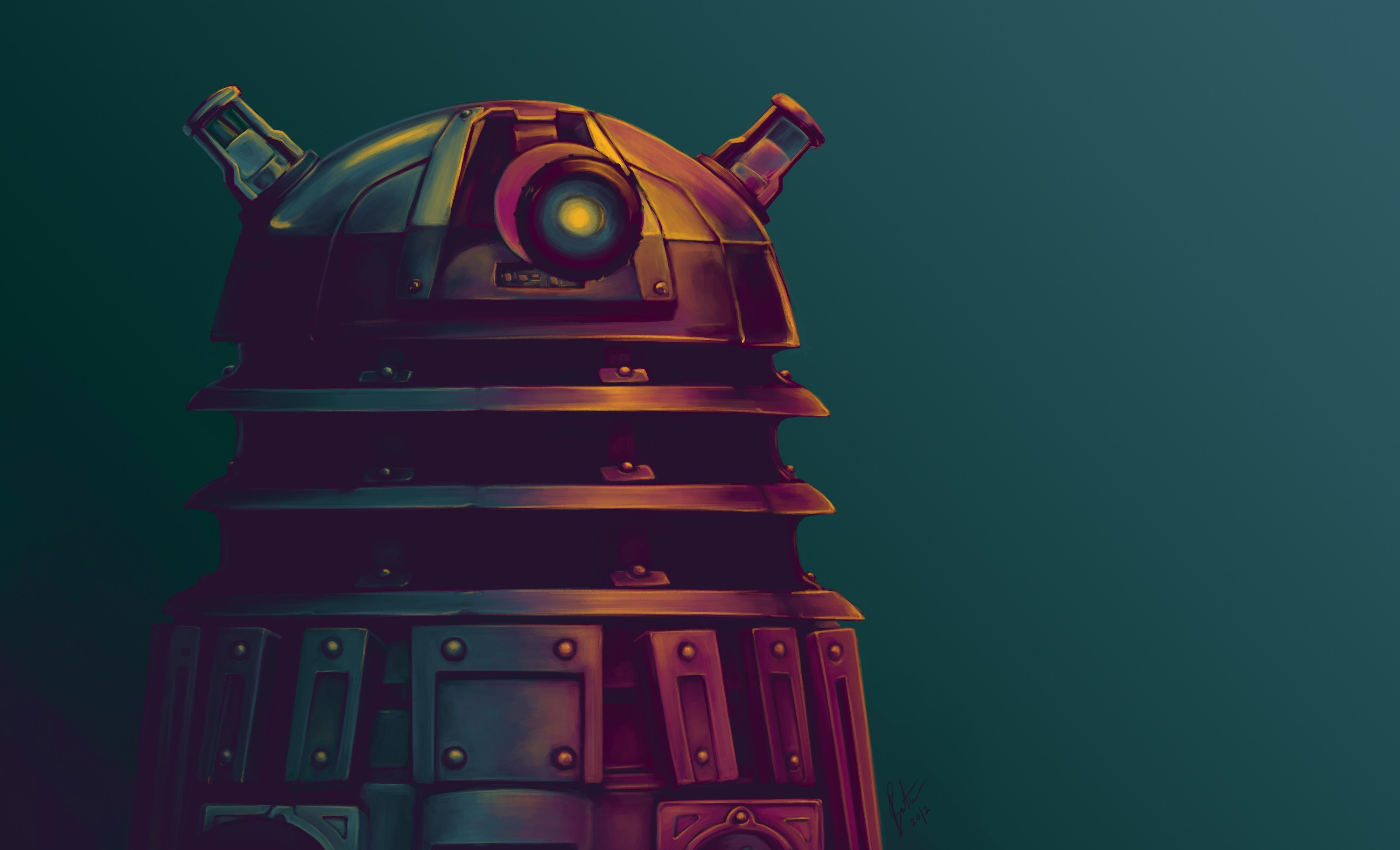 3000x1821 #Daleks, #artwork, #Doctor Who, wallpaper