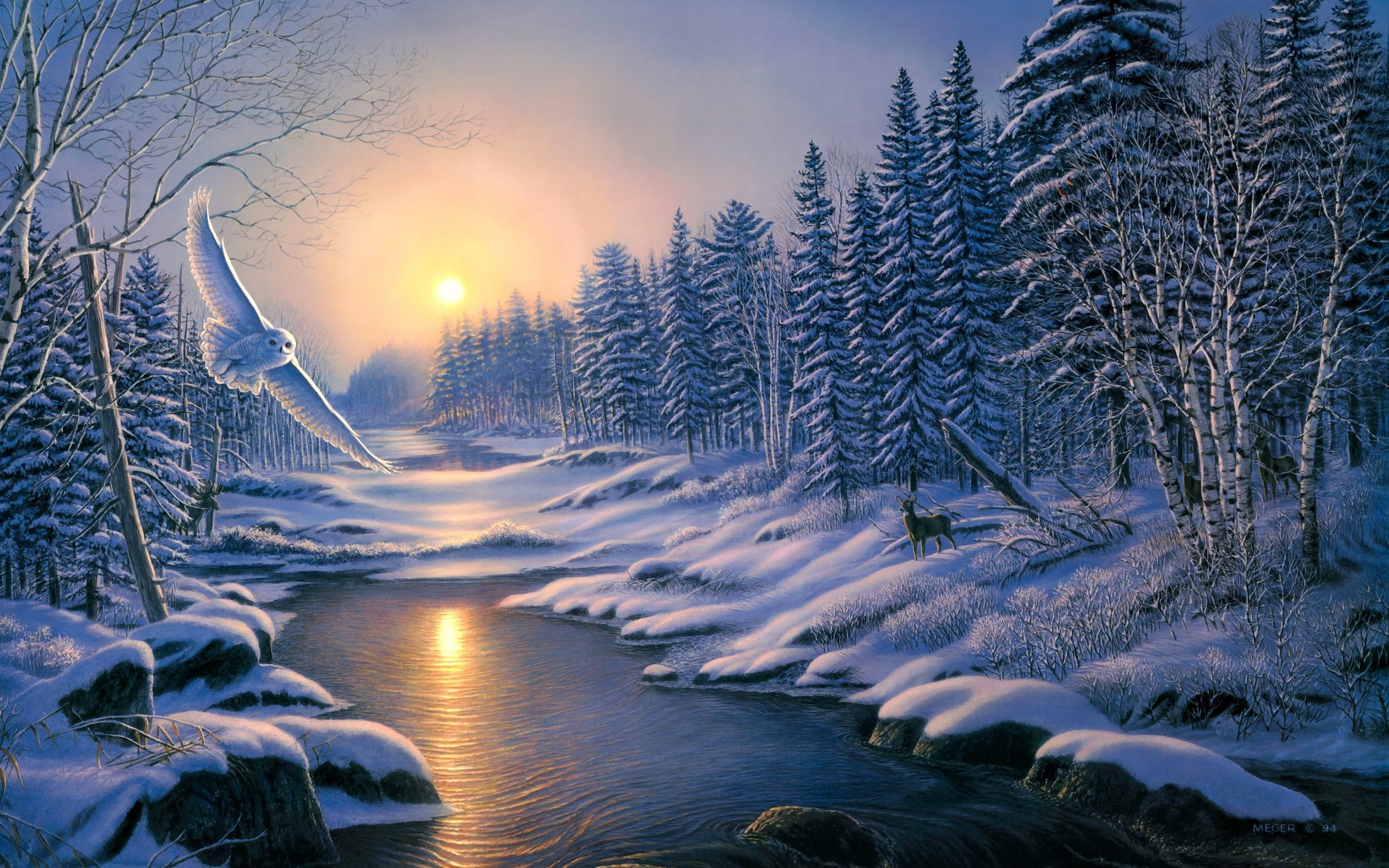 2560x1600 HD Nature Winter Images.