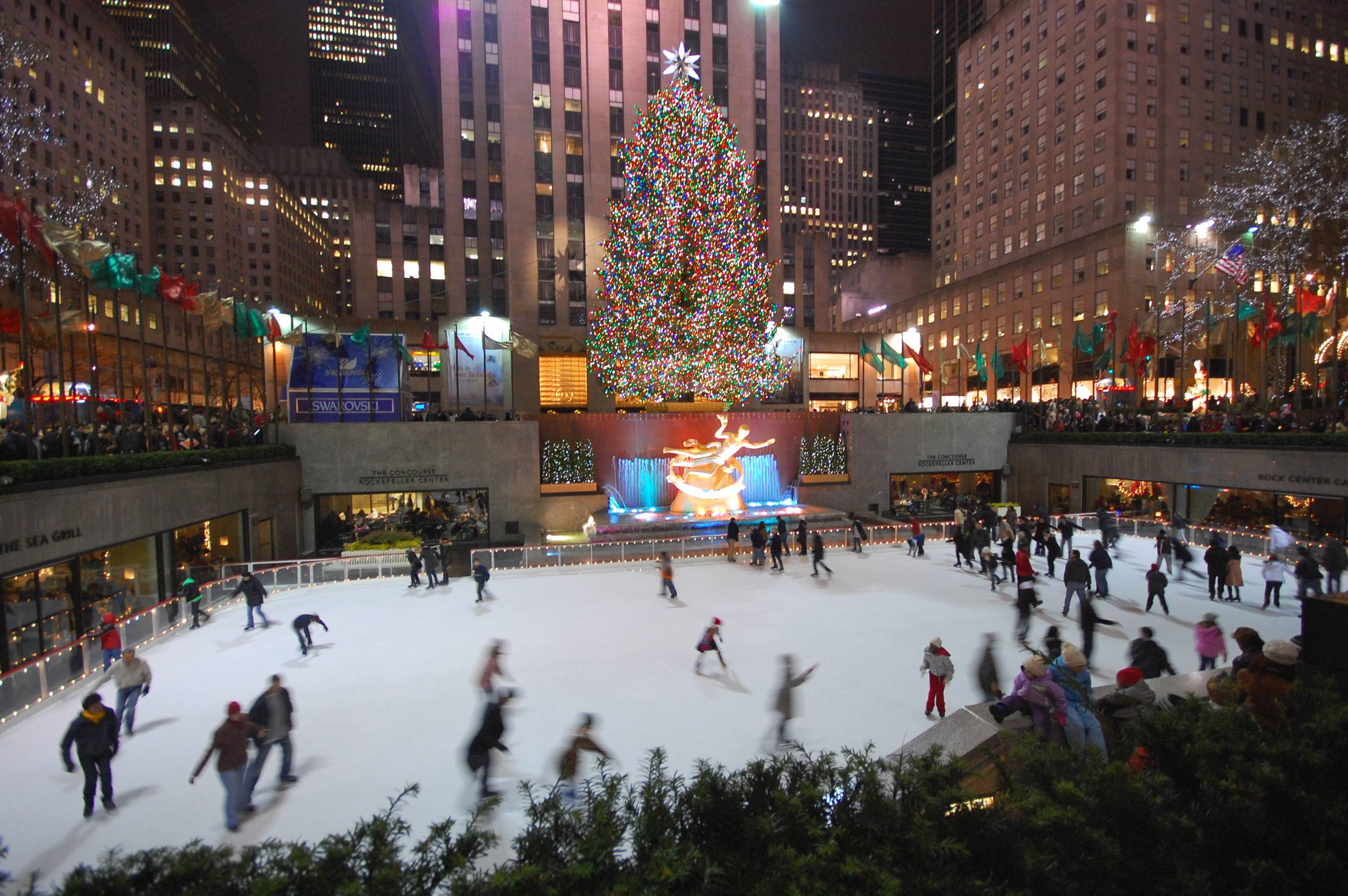 3008x2000 new york at christmas snow | HD Wallpaper and Download Free Wallpaper