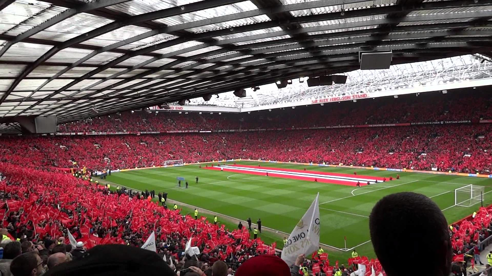 1920x1080 HD 'Glory Glory Man United' at Sir Alex Ferguson's last Old Trafford match  - Sunday 12/05/2013 - YouTube