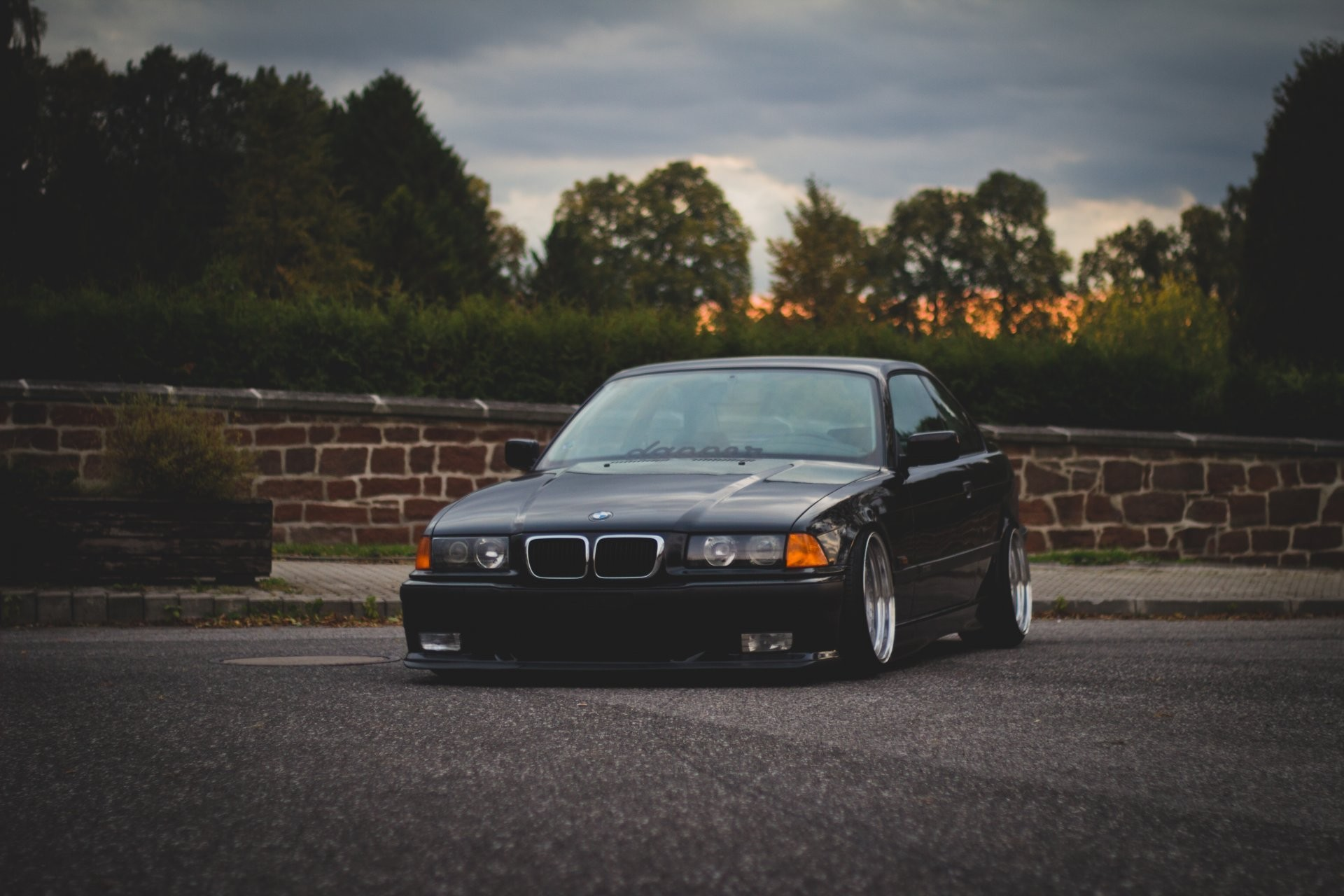 1920x1280 bmw m3 e36 3 series oldschool road stance bmw