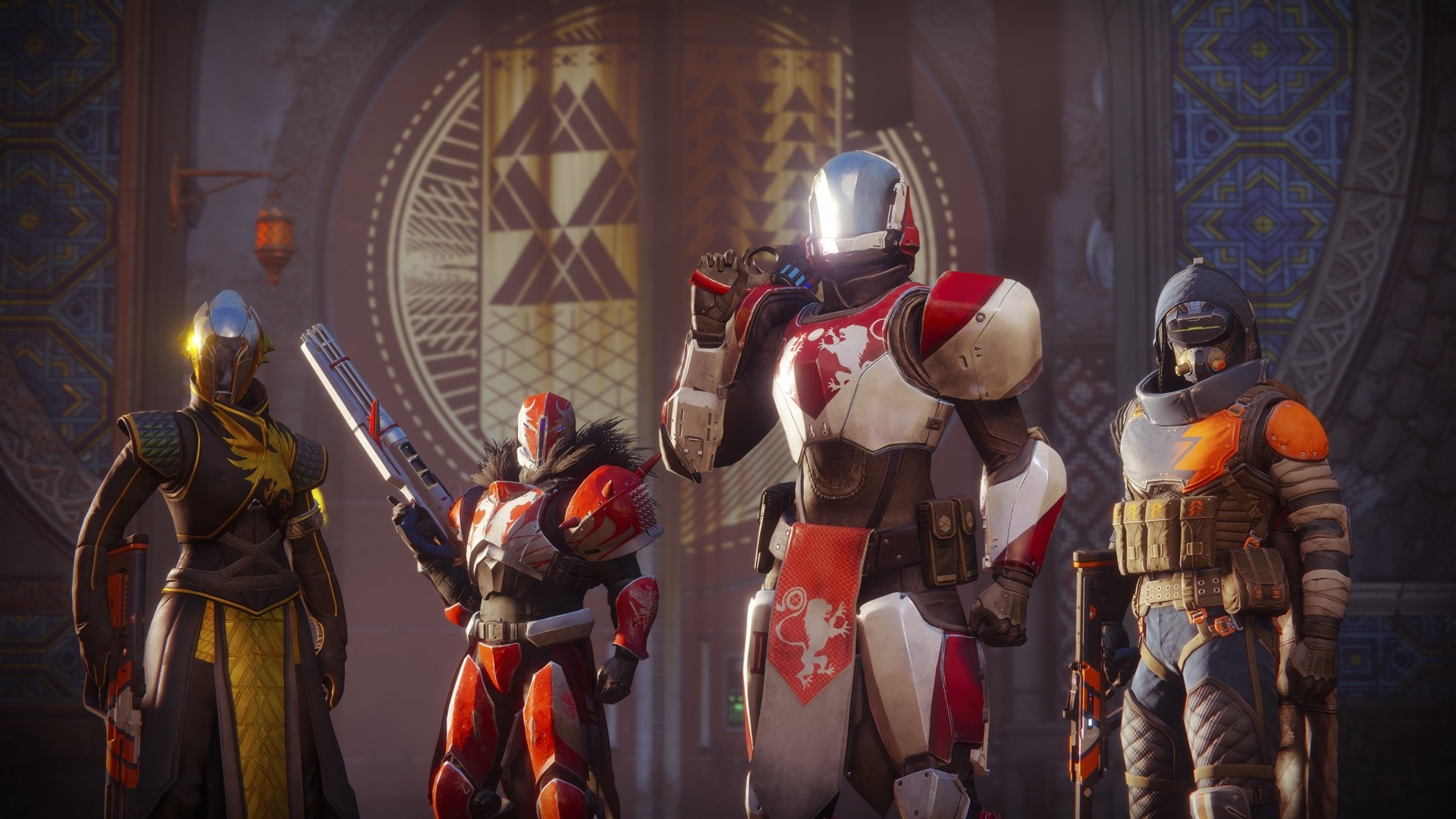 1920x1080 Nice Destiny 2 Guardians Titan Warlock and Hunter  wallpaper