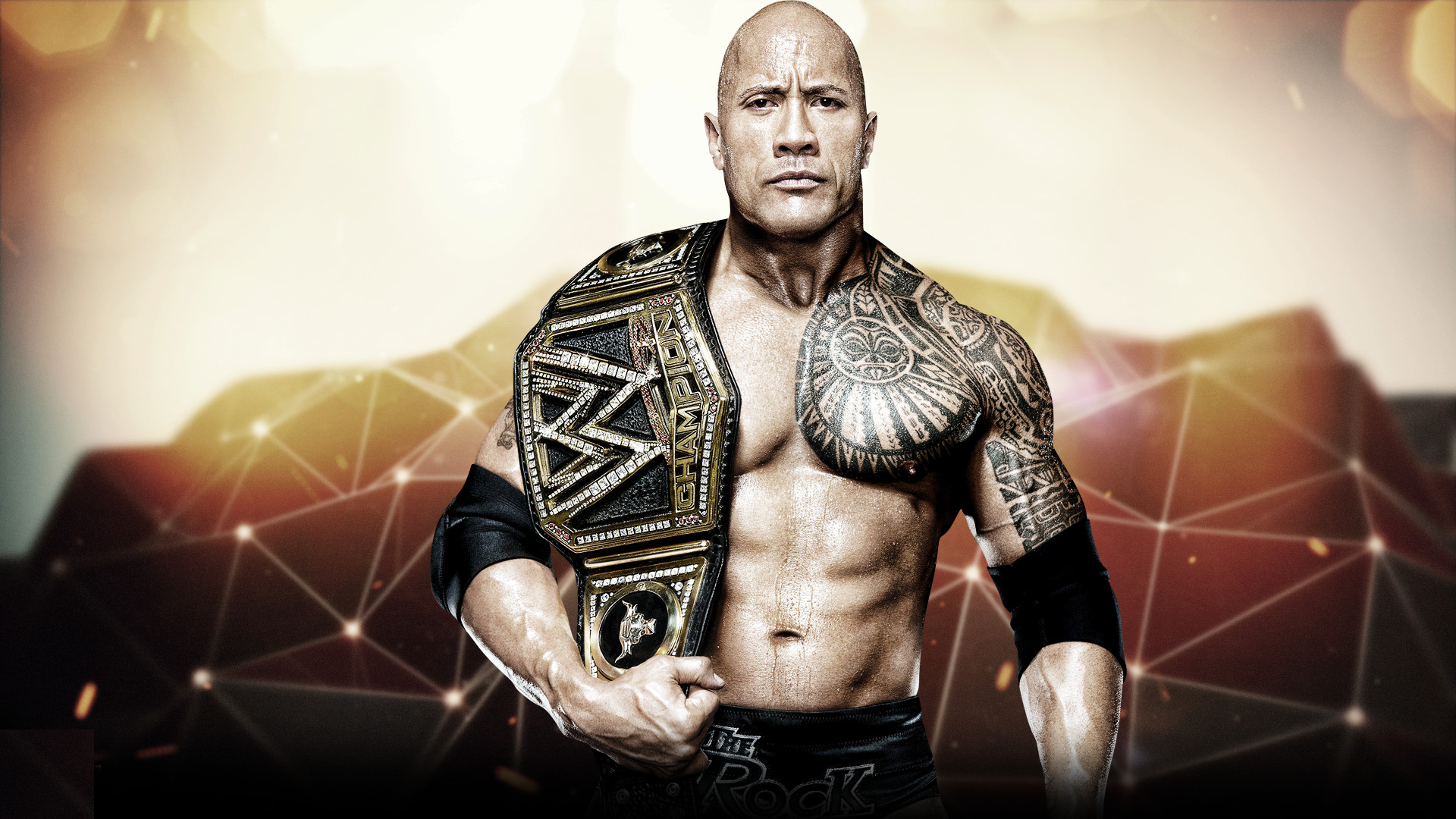 1920x1080 WWE Superstar The Rock Desktop Backgrounds