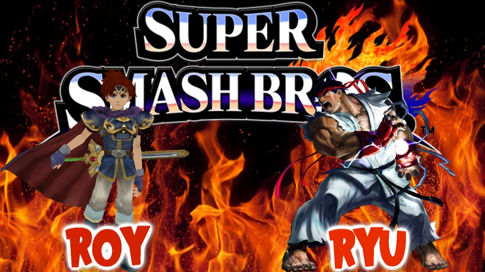 1920x1080 Smash 4 Update 1.06 Decrypted Potentially Roy Fire Emblem & Ryu Street  fighter Victory Sounds