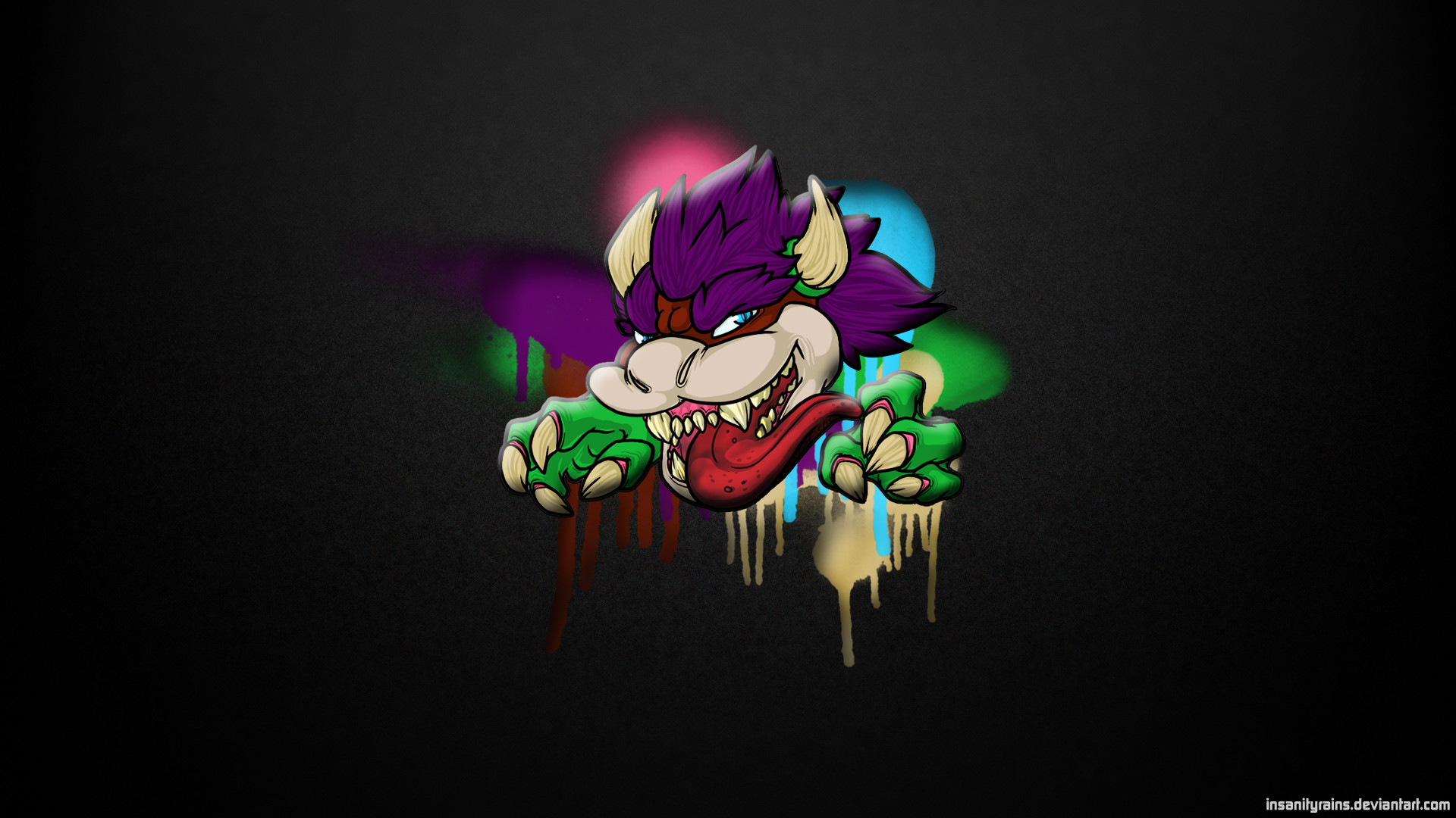 1920x1080 Bowser Remix Wallpaper  by insanityrains Bowser Remix Wallpaper   by insanityrains
