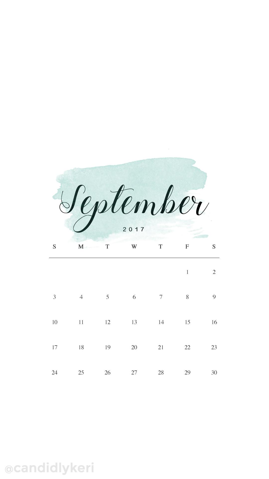 Calendar Wallpaper Ipad : Watercolor ipad desktop background calendar october