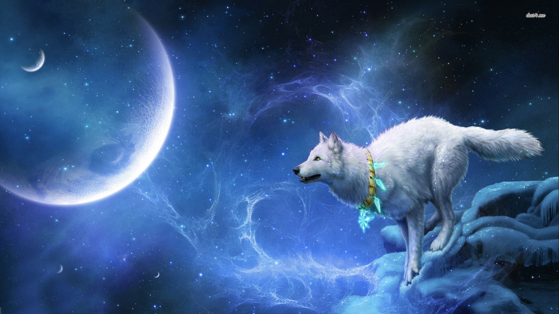1920x1080 Image - 13825-wolf-in-space--digital-art-wallpaper.jpg | Animal  Jam Clans Wiki | FANDOM powered by Wikia