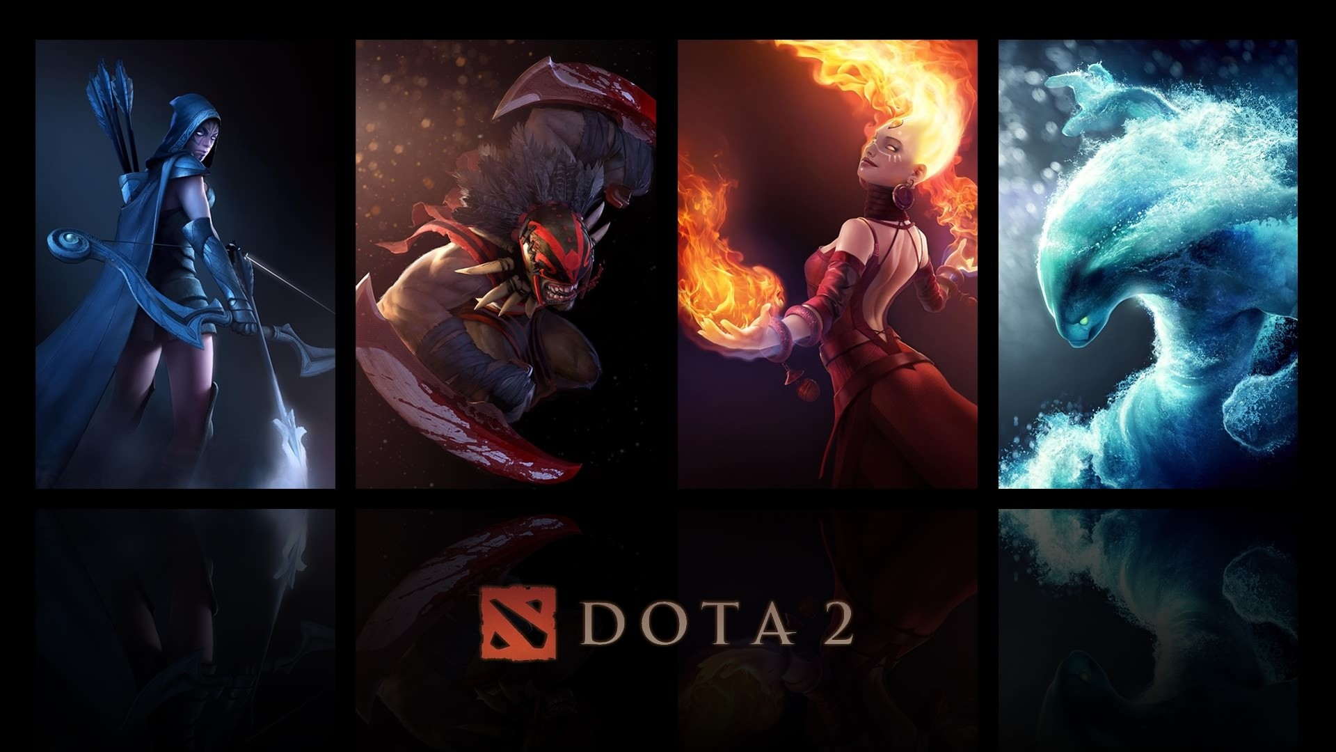 1920x1080 Dota 2 Heroes Wallpaper HD
