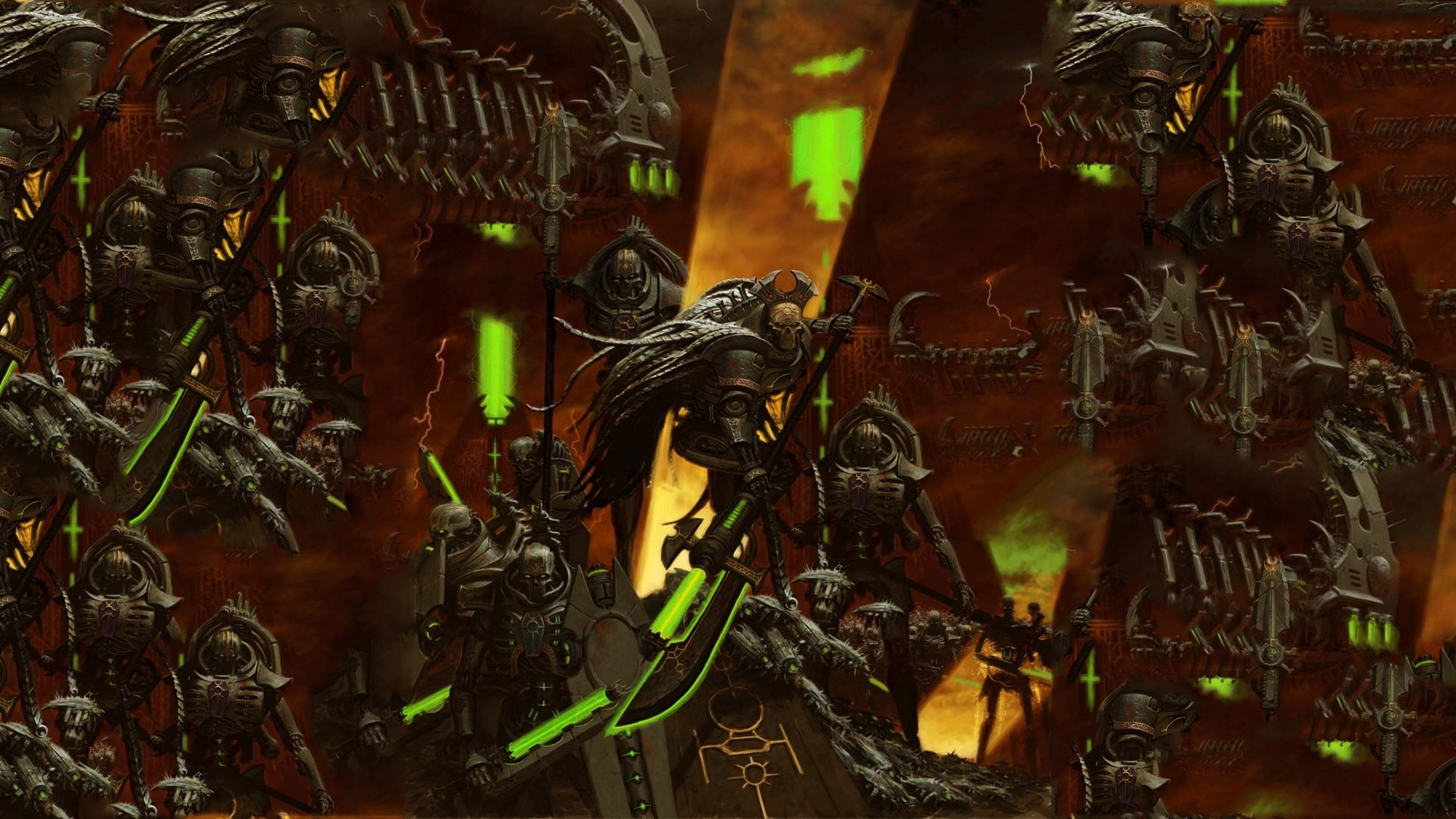 "1920x1080 Search Results for ""warhammer wallpaper necrons"" – Adorable Wallpapers"