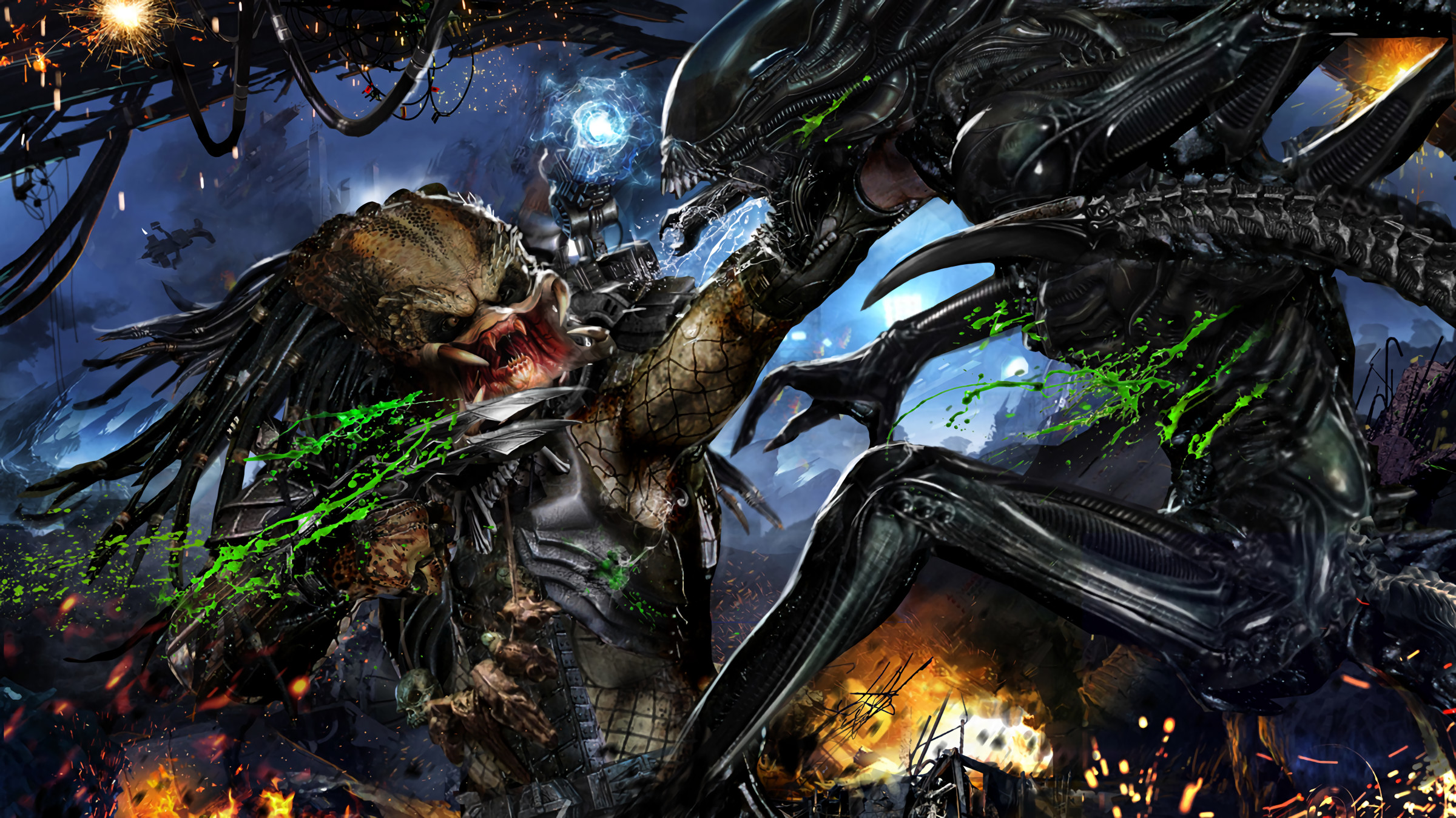 alien vs predator game free download for android