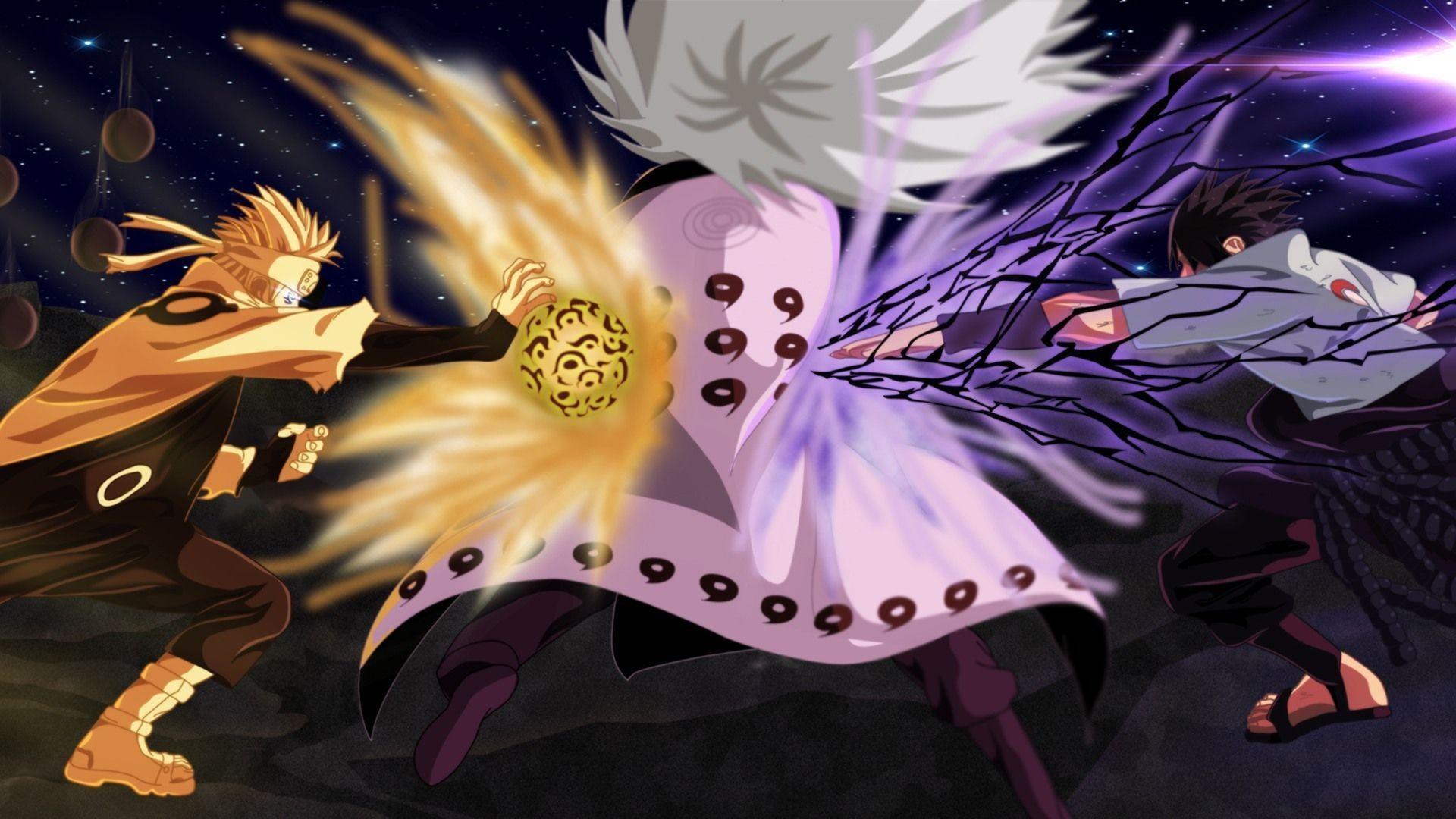 Wallpaper Anime Naruto Shippuden 3d