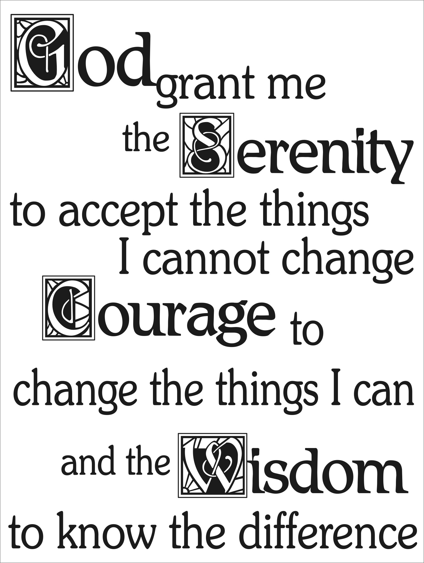 photo relating to Serenity Prayer Printable identify Serenity Prayer apple iphone Wallpaper (69+ illustrations or photos)