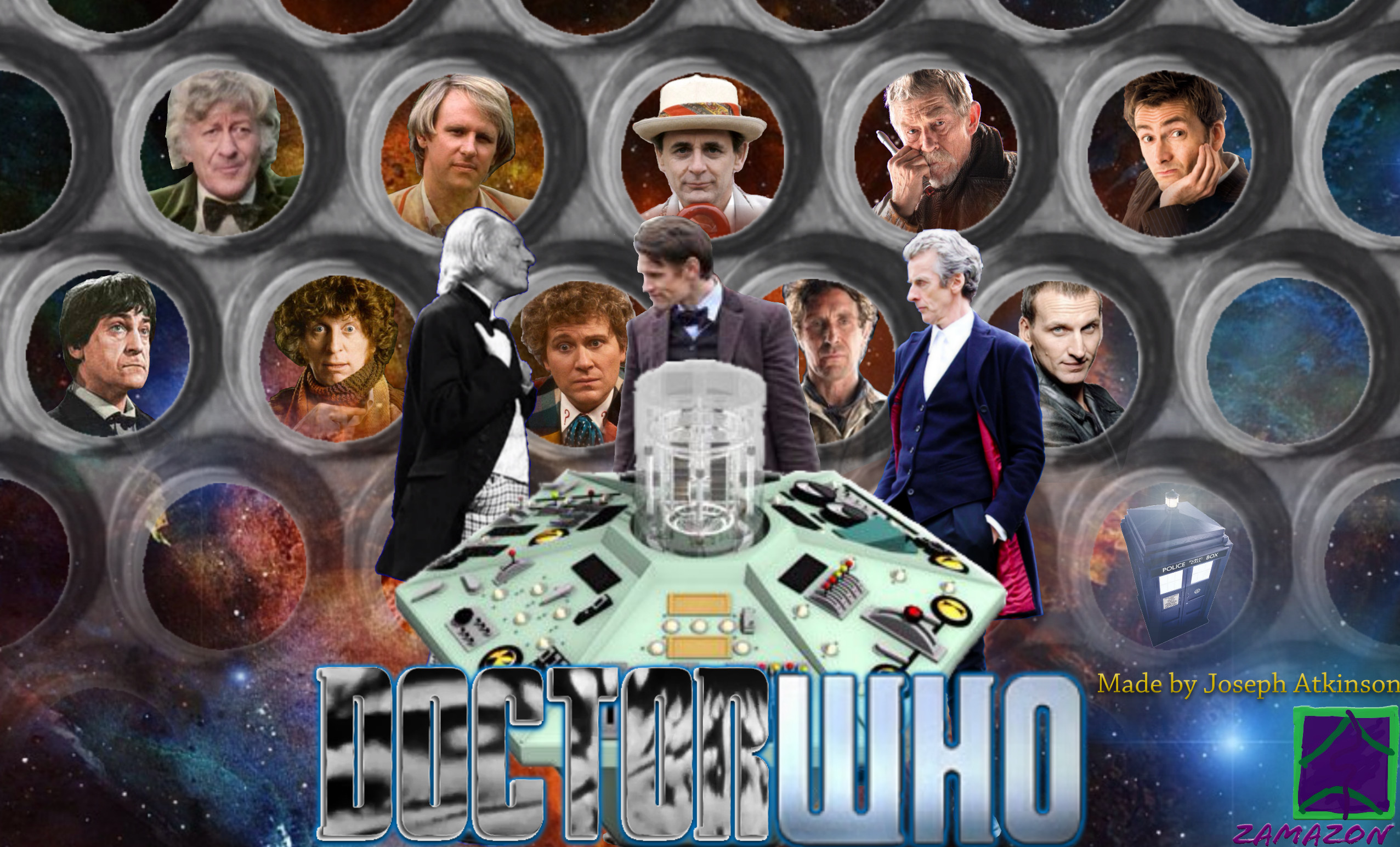 2553x1544 The 13 doctors by vvjosephvv The 13 doctors by vvjosephvv