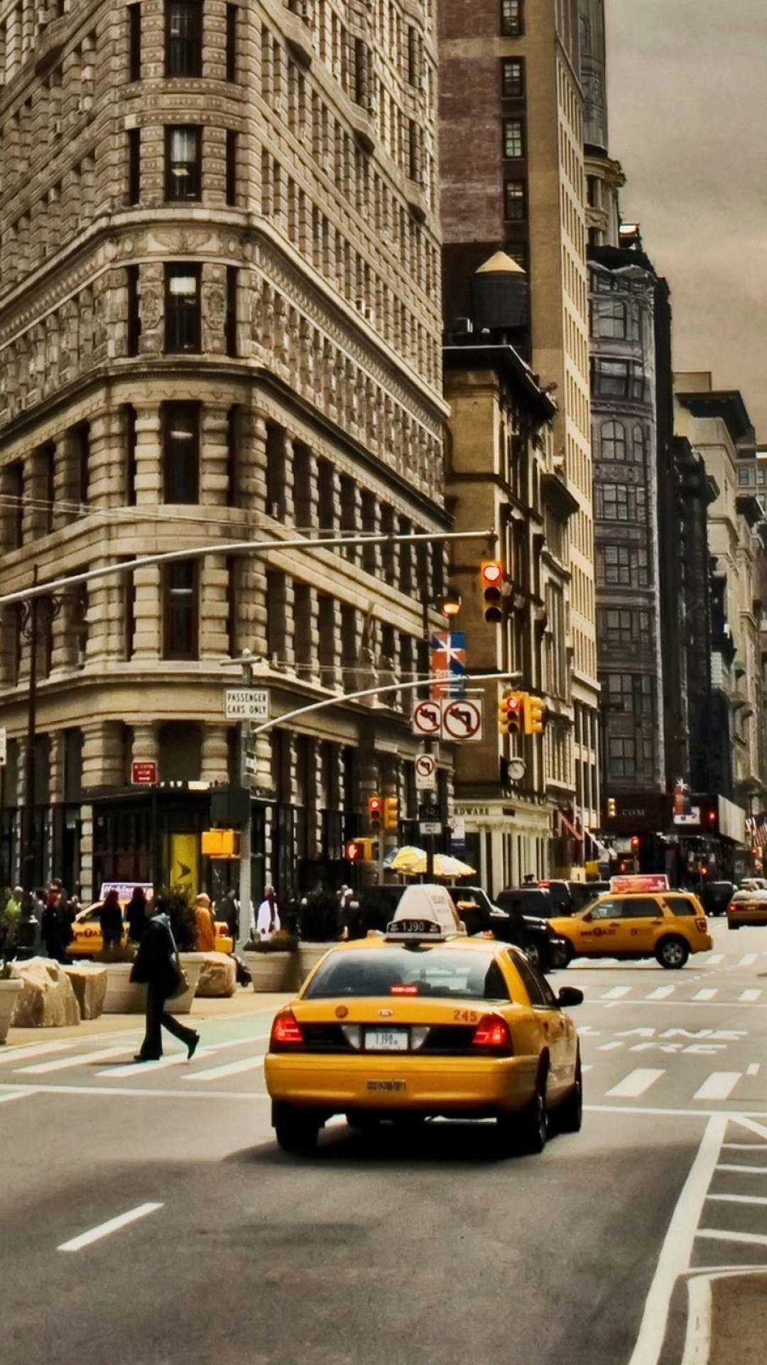 25 Beautiful New York Street Wallpaper