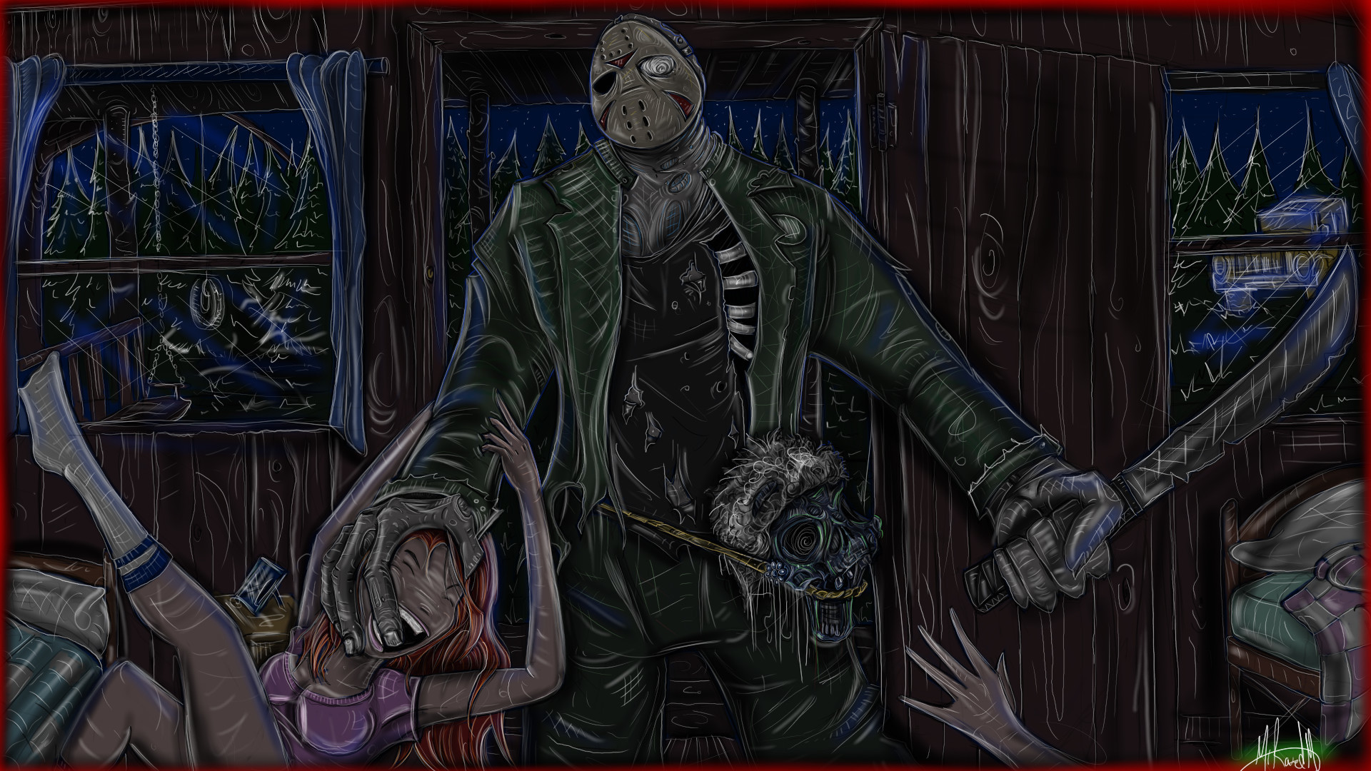 1920x1080  Jason Voorhees Wallpaper Jason Friday The 13th Wallpaper