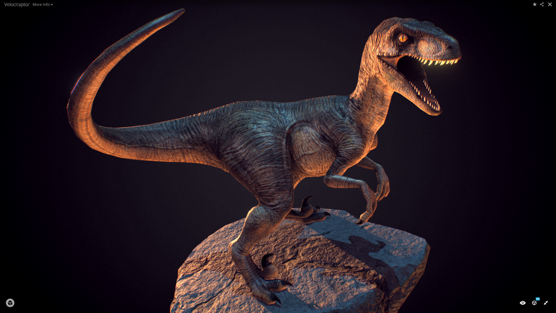 Jurassic world velociraptor