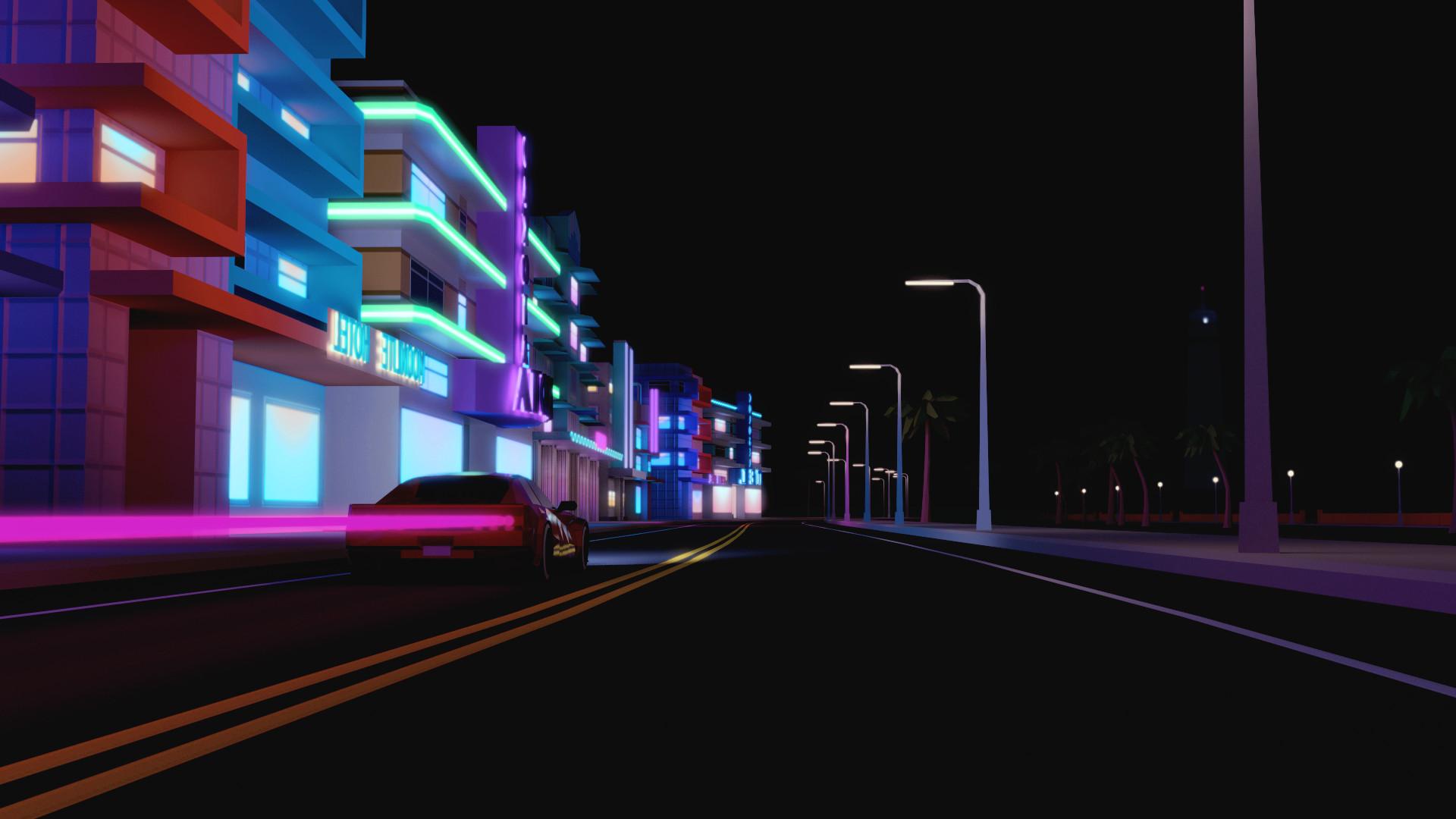 Street Wallpaper Hd Night City 66 Images