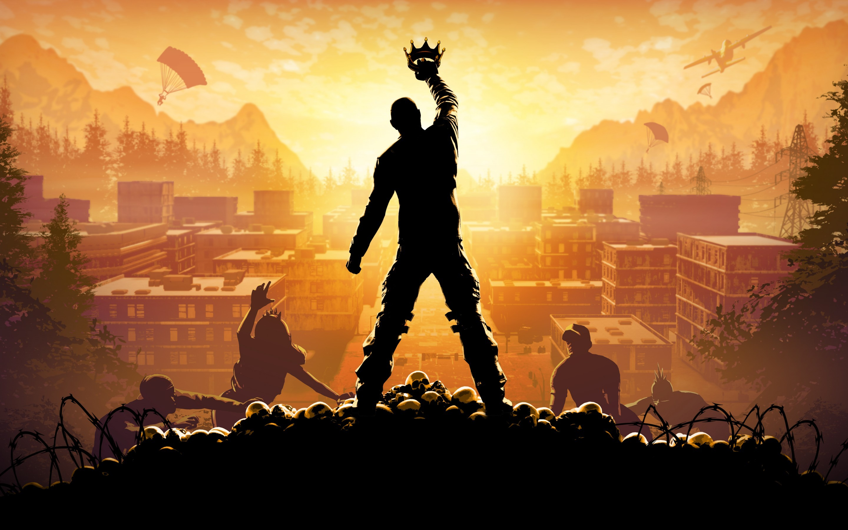 2880x1800 Games / H1Z1: King of the Kill Wallpaper