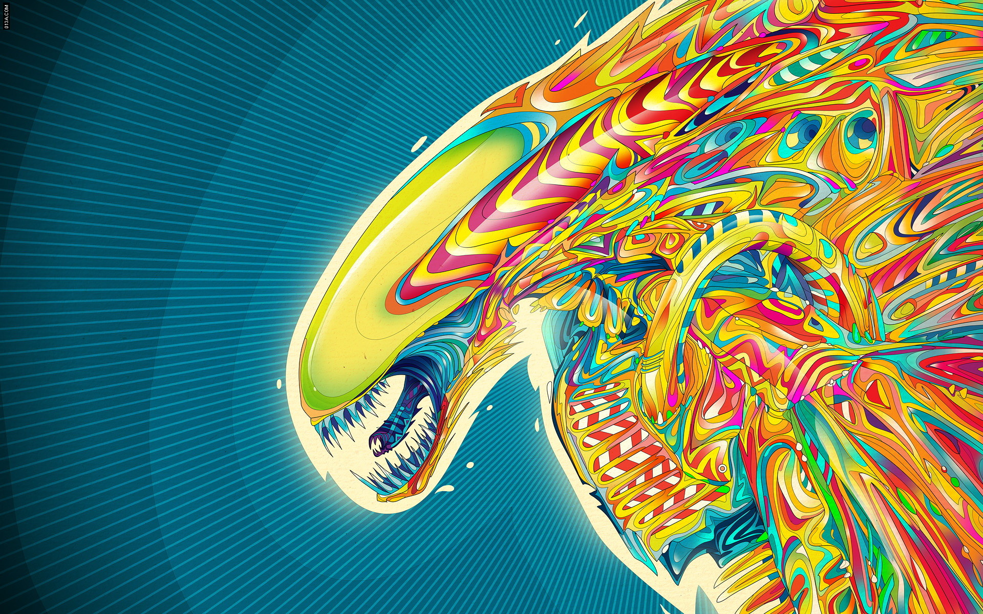 1920x1200 Alien Wallpapers Acid Trip Myspace Backgrounds