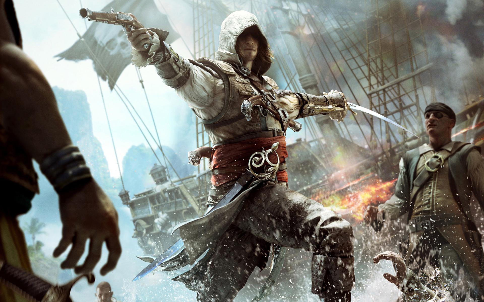 black flag wallpaper  Assassins Creed Black Flag Wallpapers (80  images)
