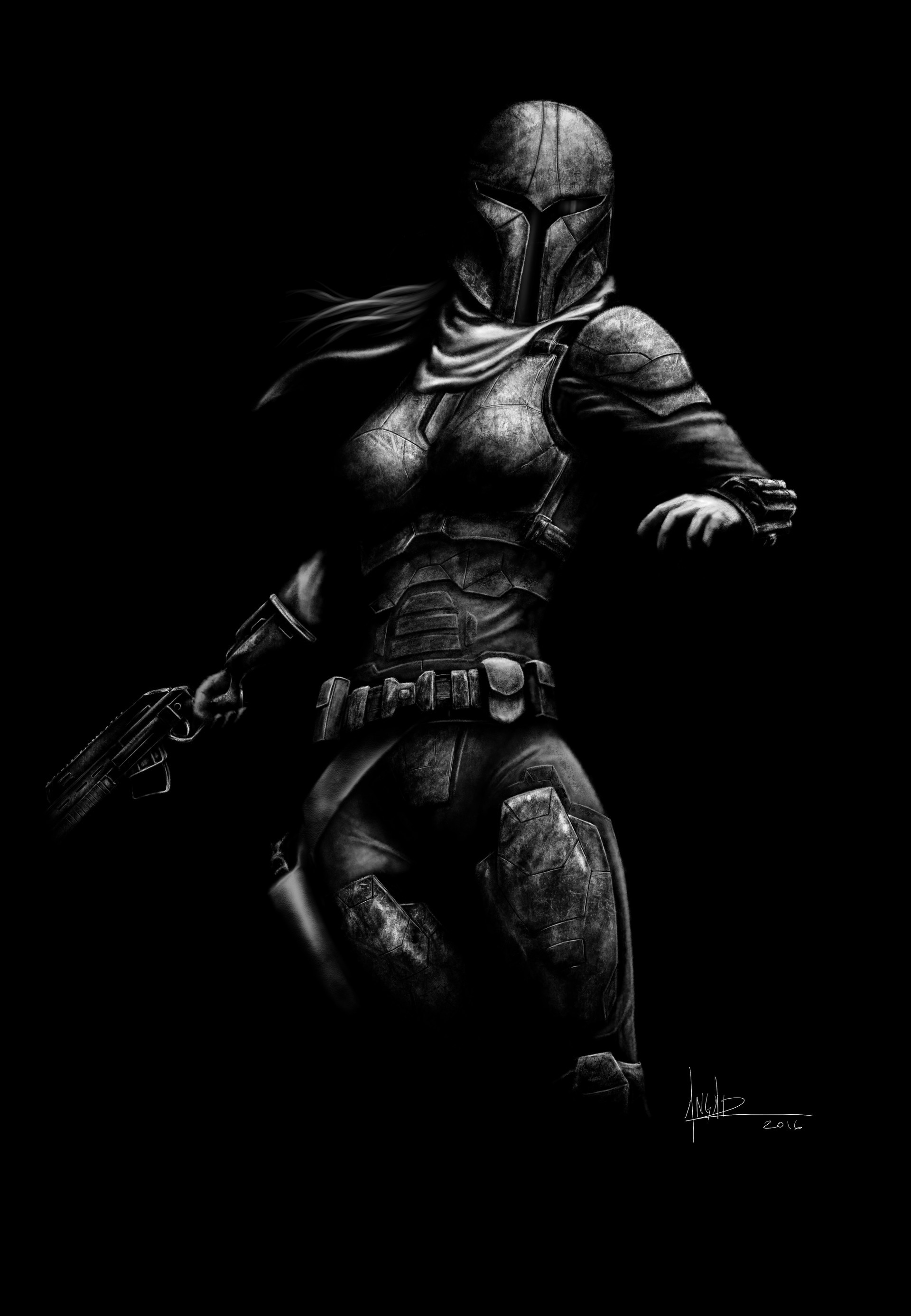 1920x2773 This is character that I created based on the Mandalorian warriors from the Star  Wars Universe.