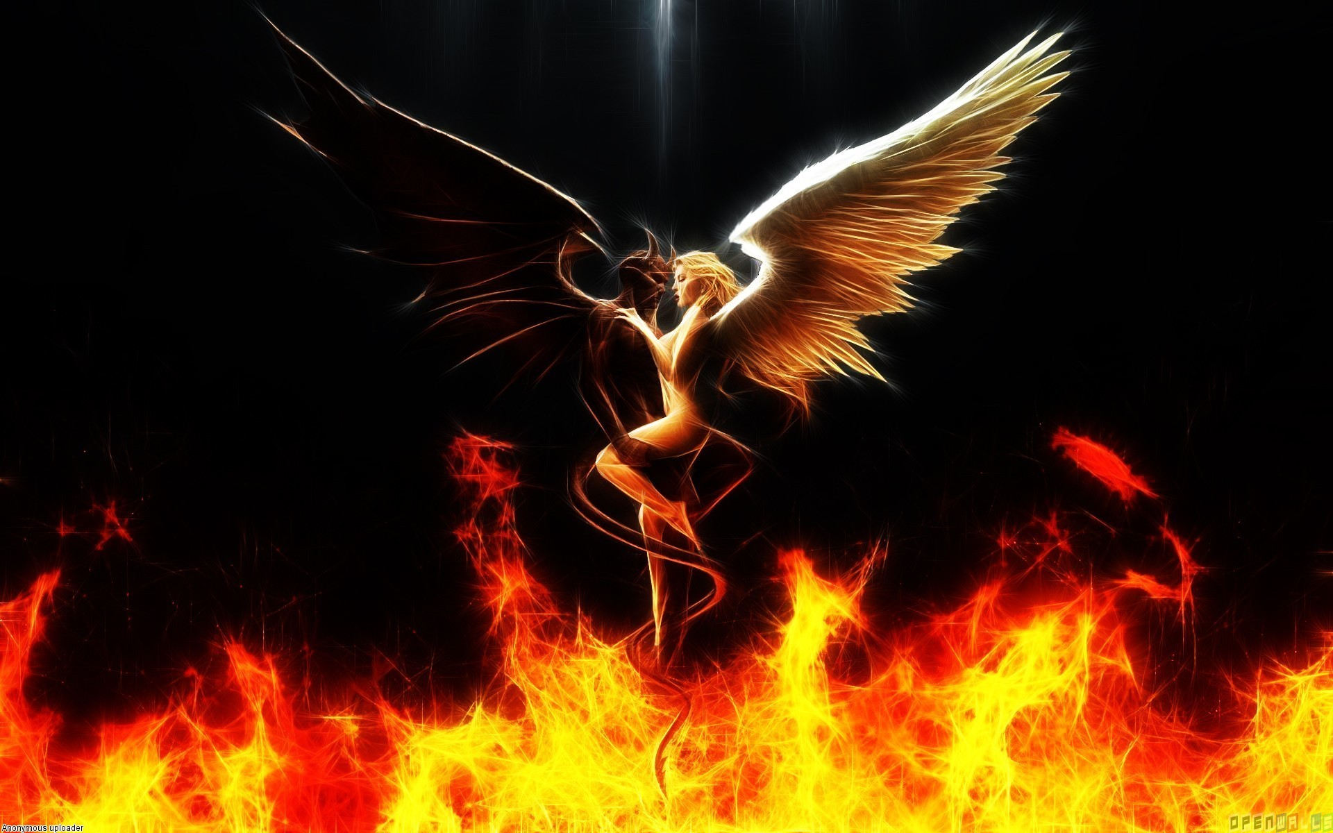 Angel And Devil Wallpaper 61 Images