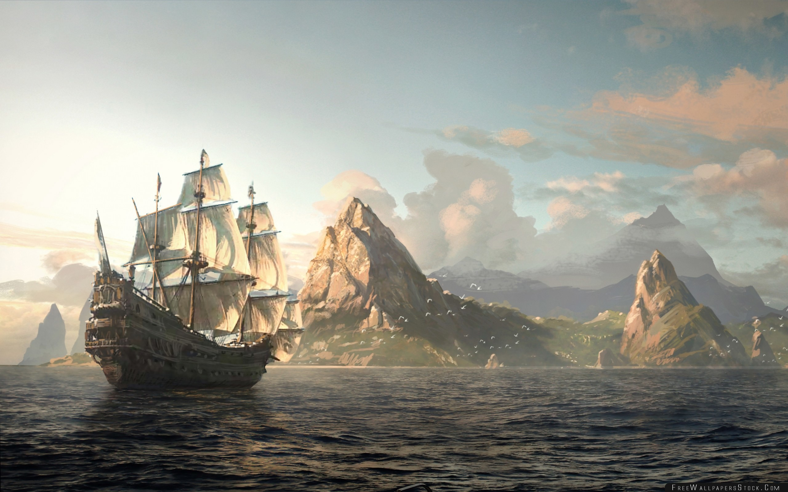 2560x1600 Download Free Wallpaper Assassins Creed Black Flag Assassin Pirate Edward  Kenway