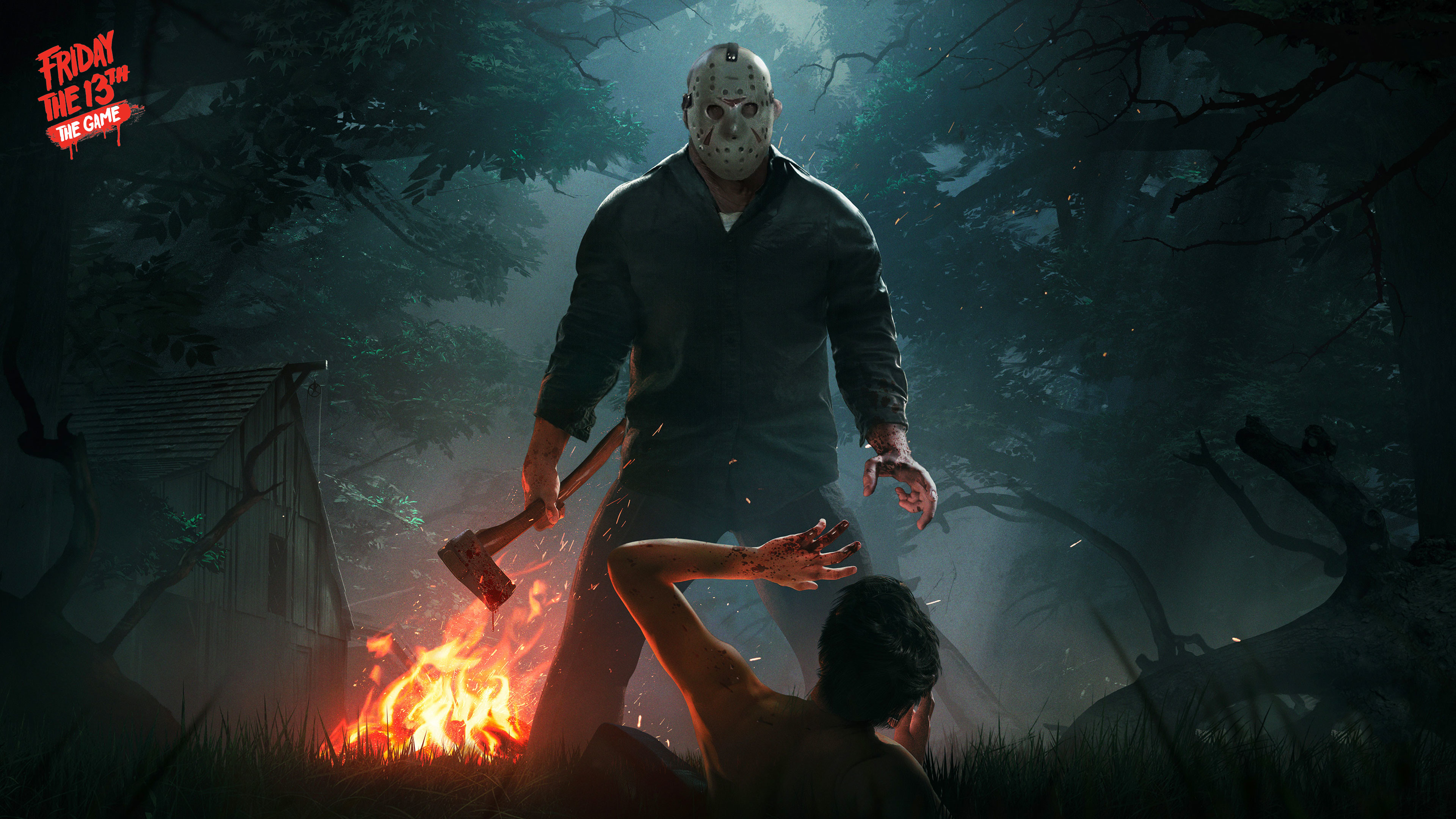 3840x2160 Friday the 13th the game 4K Wallpaper ...