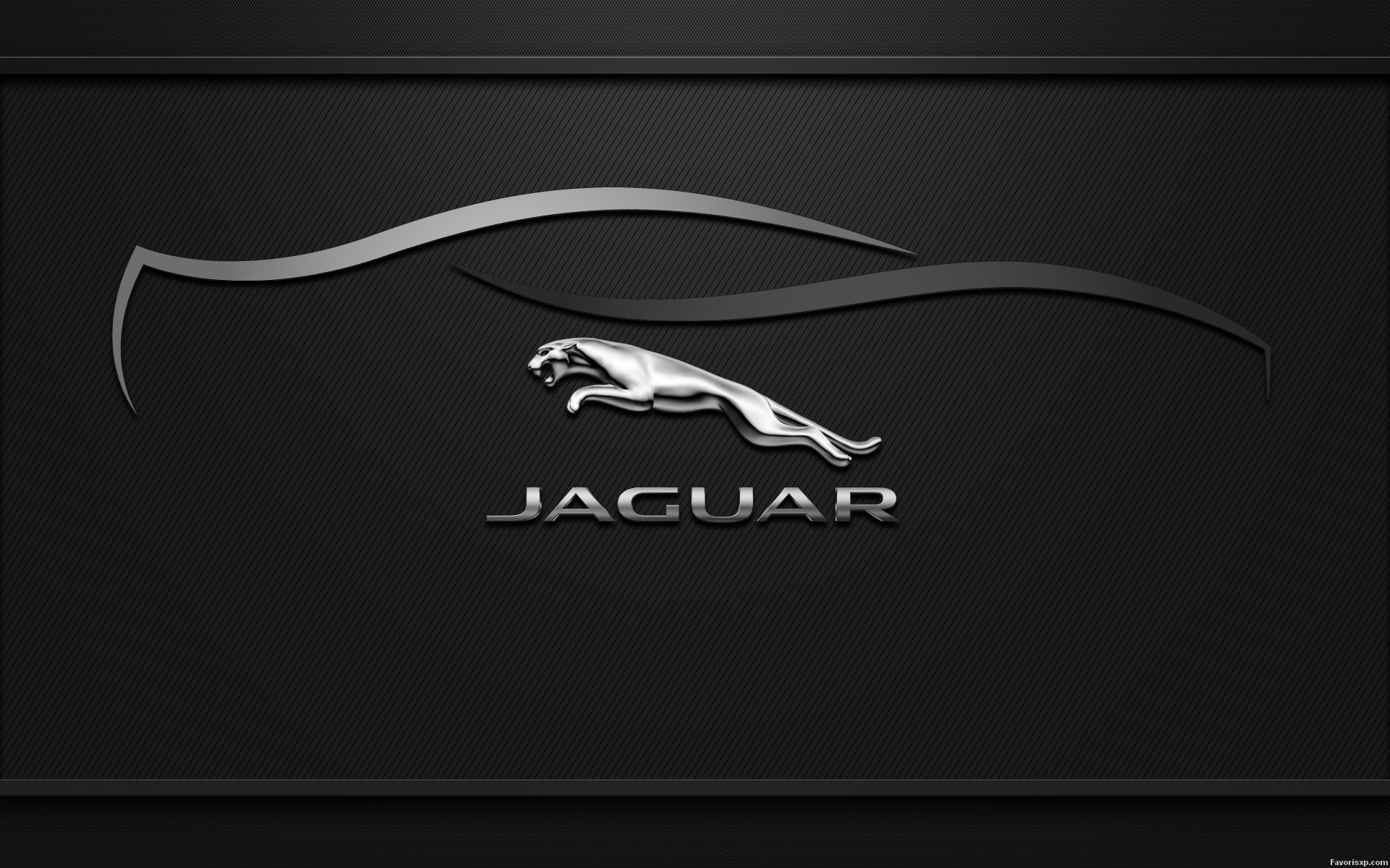 1920x1200 Jaguar Logo Widescreen Wallpaper