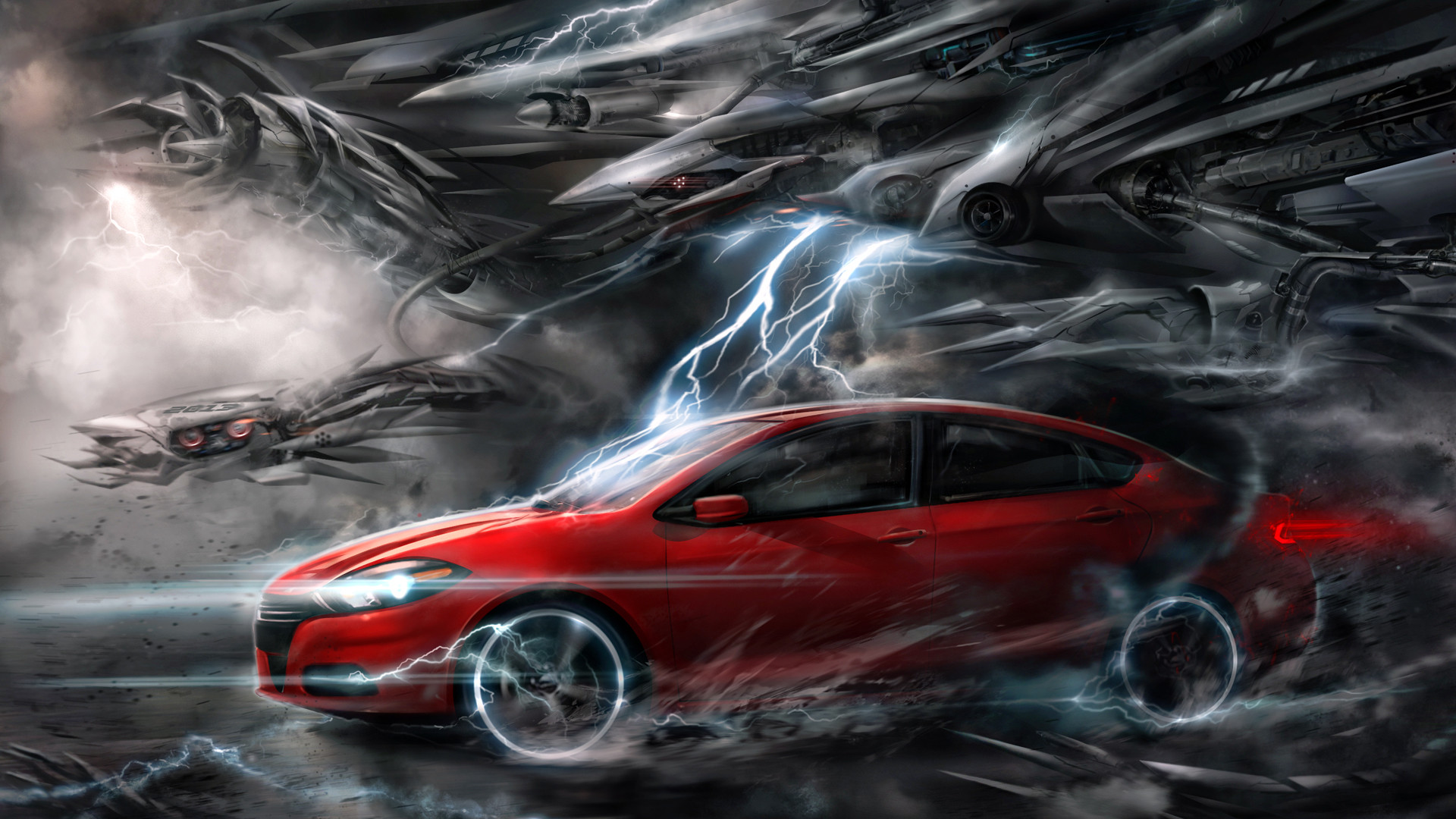 1920x1080 Homepage Auto and Vehicules Red car wallpaper  1