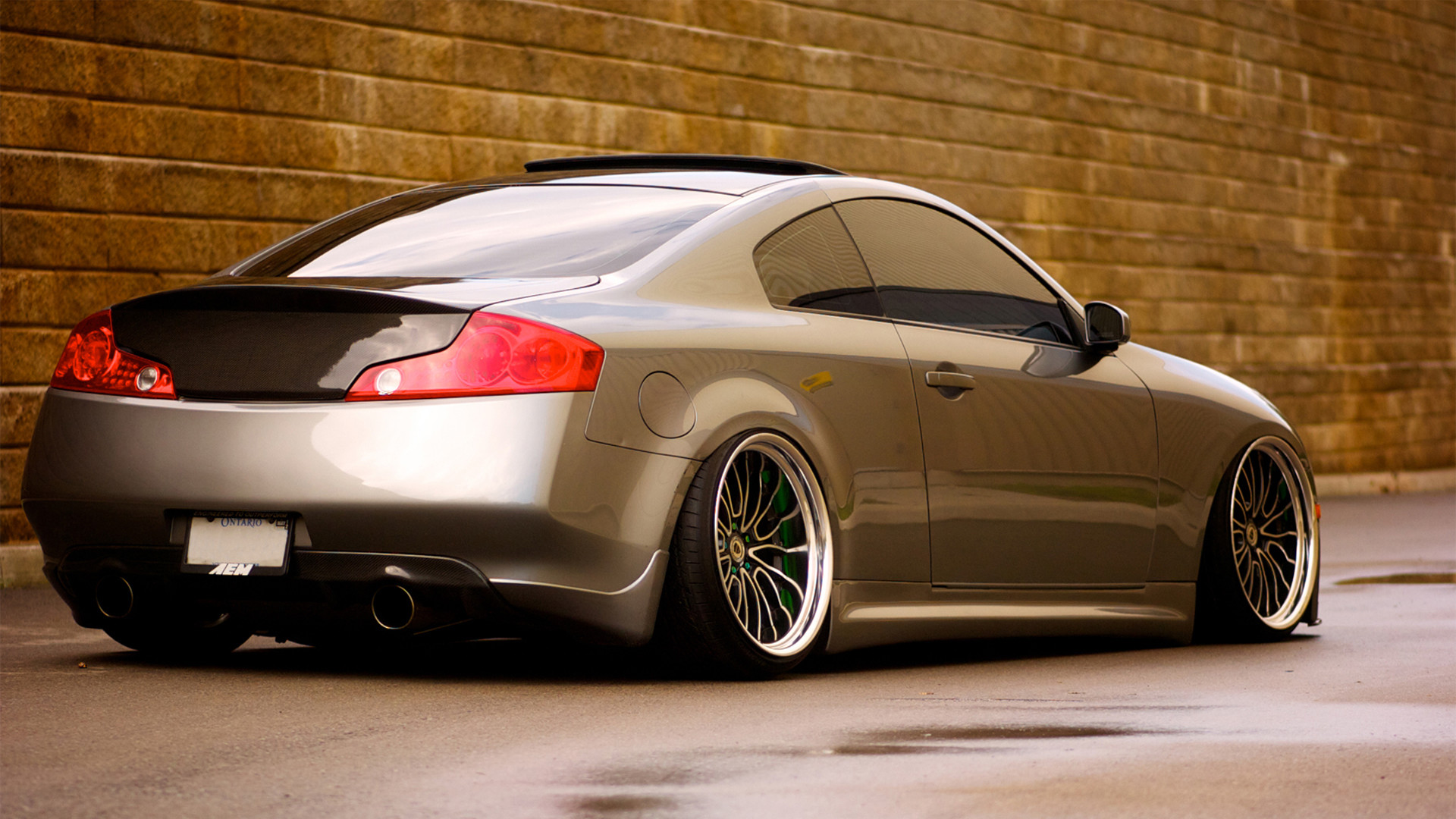 1920x1080 Cool wallpaper of infiniti g35, picture of coupe, low .