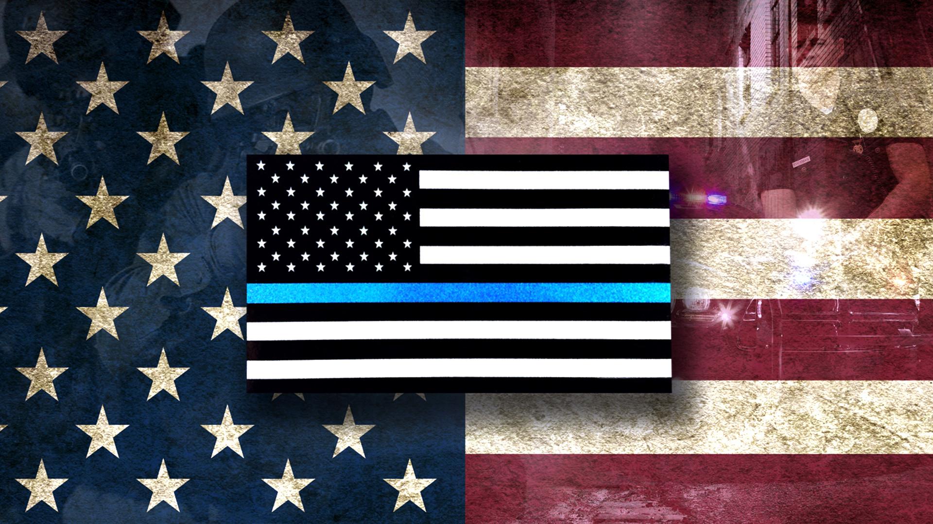Police Flag Wallpaper 55 Images