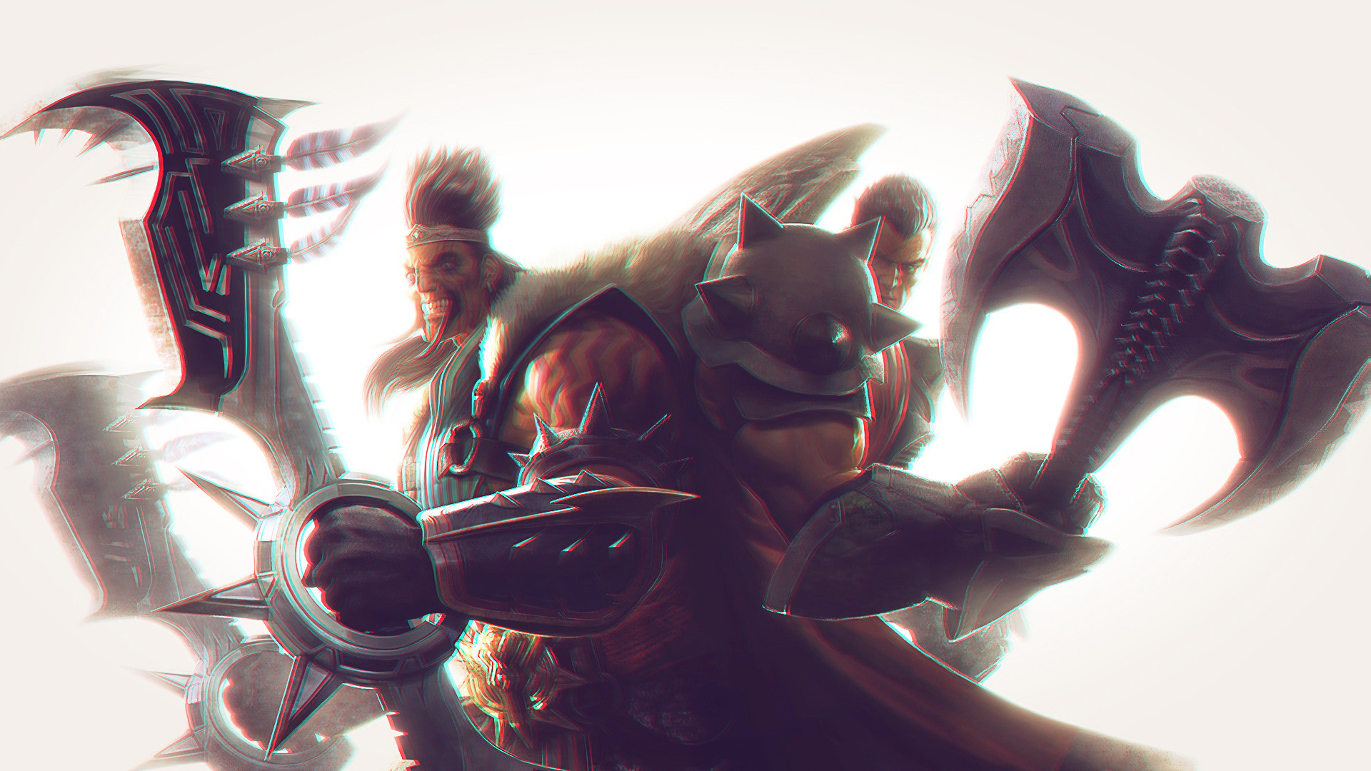 1920x1080 Draven, Darius, League Of Legends Wallpapers HD / Desktop and Mobile  Backgrounds