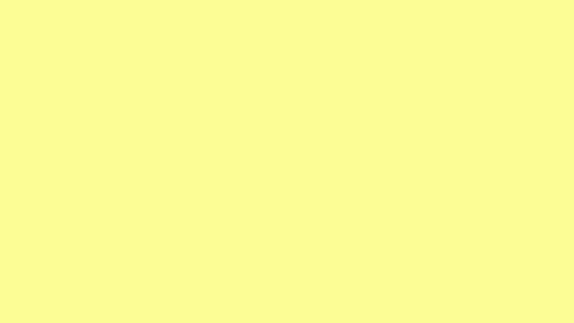 1920x1080 Pastel Yellow Solid Color Background