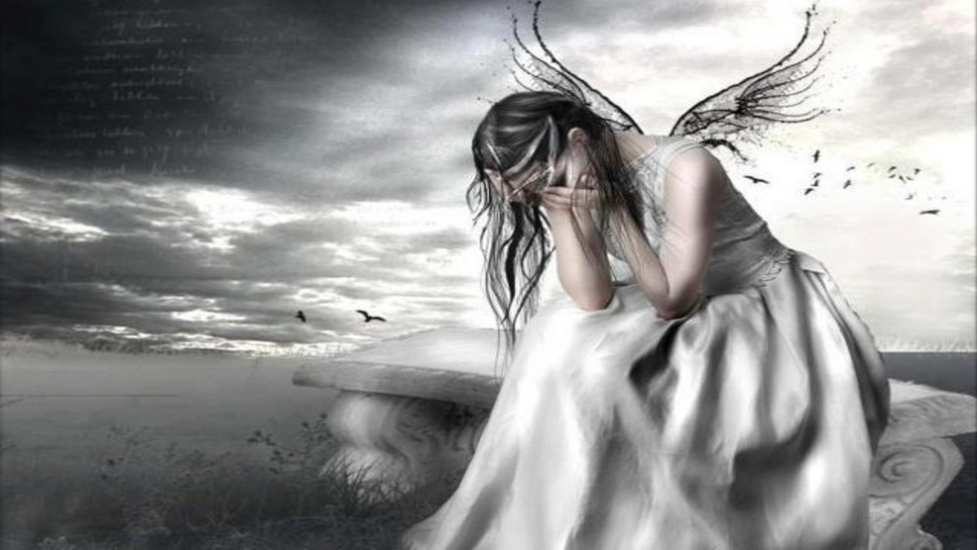 1920x1080 weeping angel wallpaper #537522