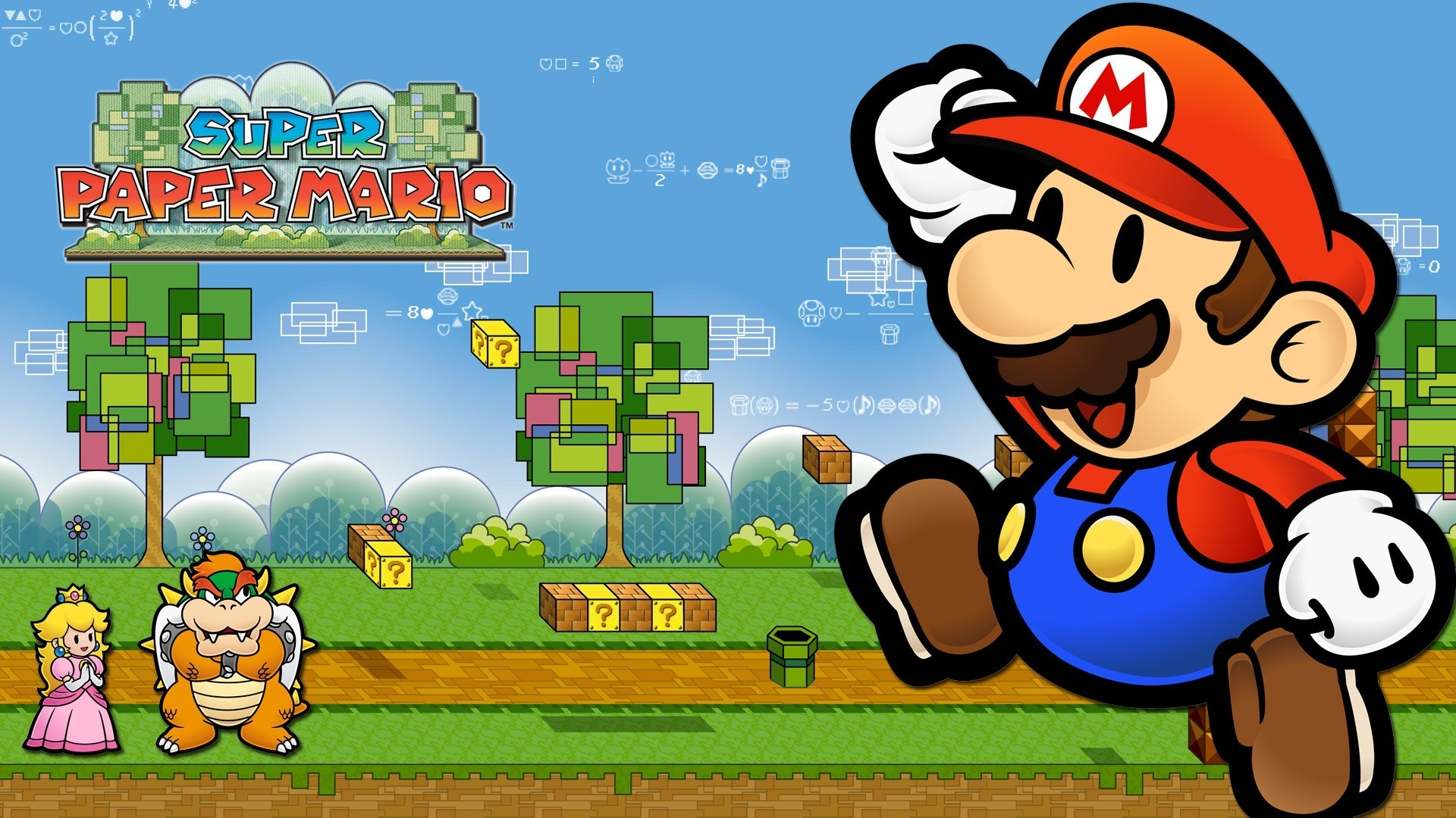 1920x1080  Super Paper Mario Computer Wallpapers, Desktop Backgrounds .