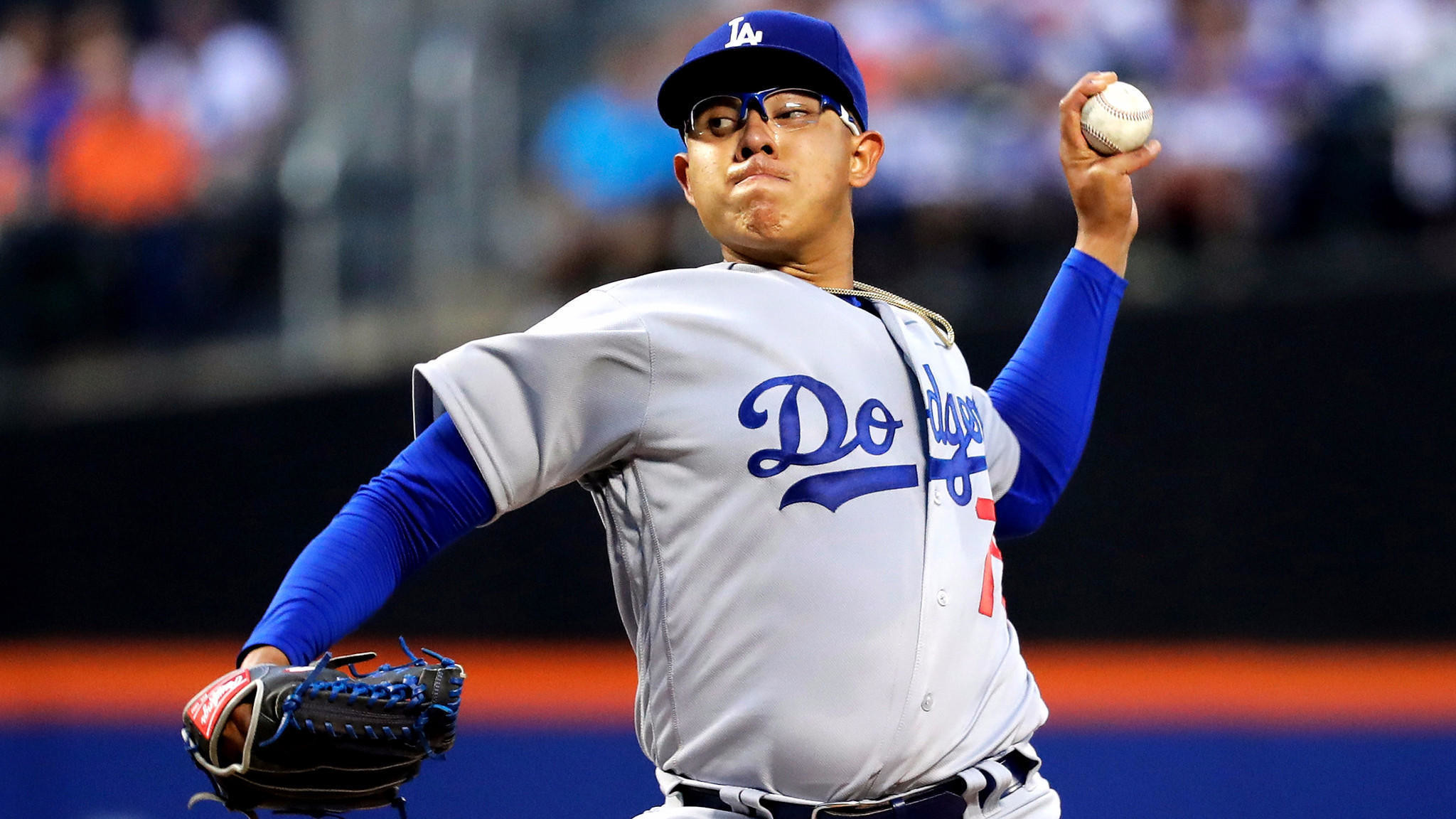 2048x1152 The first act of Julio Urias' career represented a significant challenge:  He debuted at Citi Field on Friday against a talented, disciplined New York  Mets ...