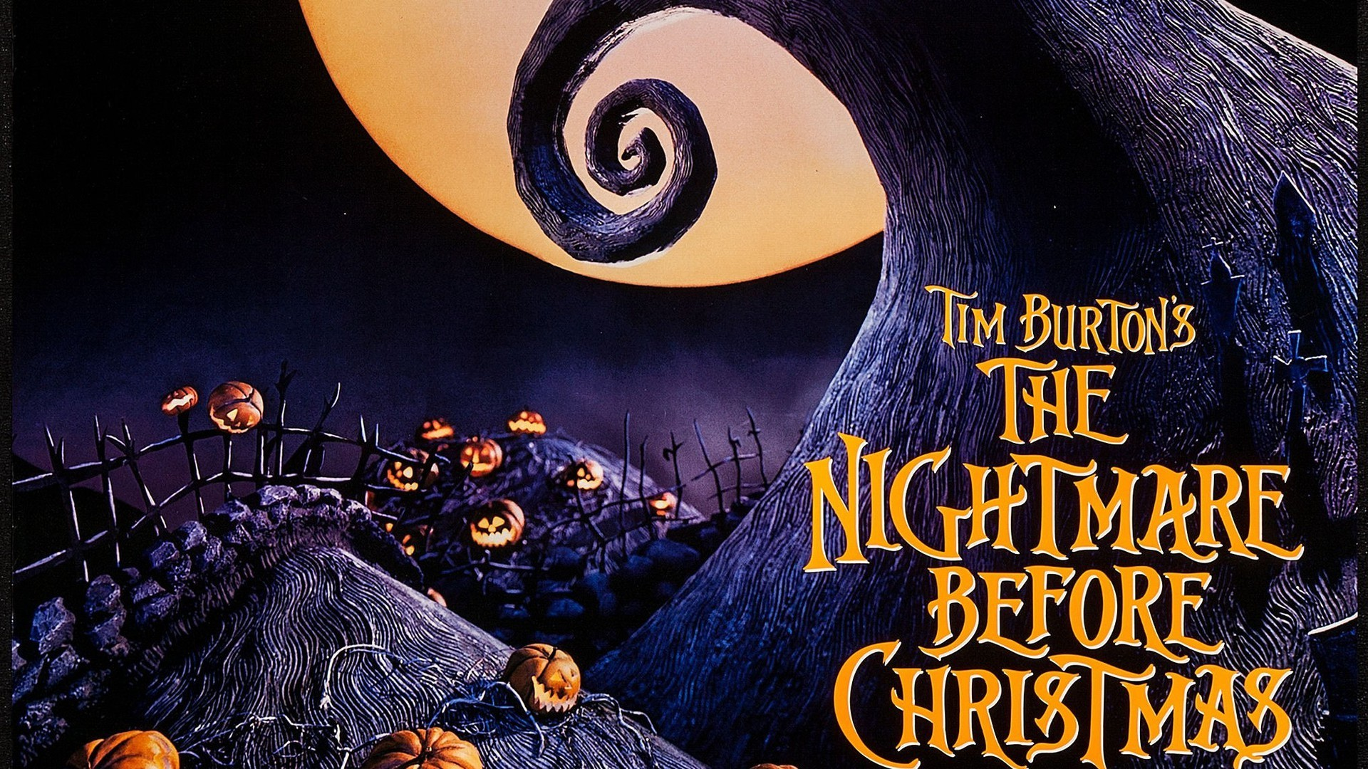 1920x1080 The nightmare before christmas movie posters wallpapers.