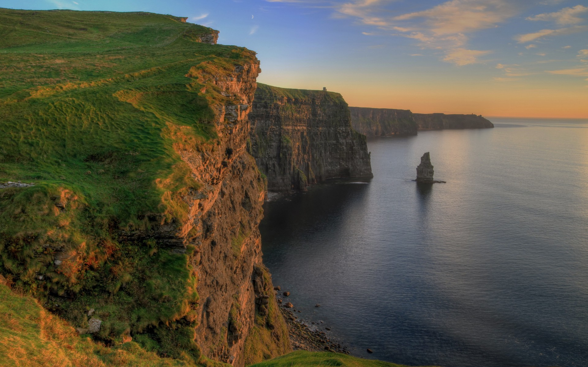1920x1200 Cliffs Of Moira Ireland wallpapers and stock photos