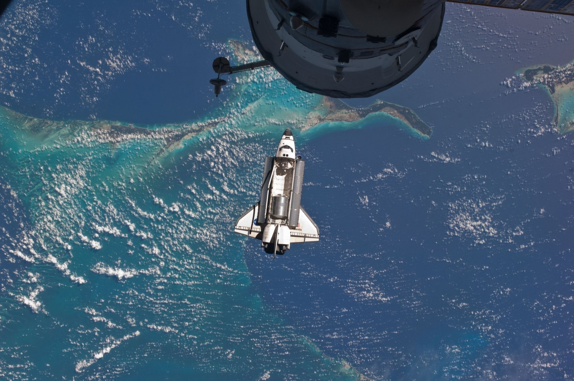 1920x1275 space shuttle atlantis last flight nasa iss international space station  atlantis space