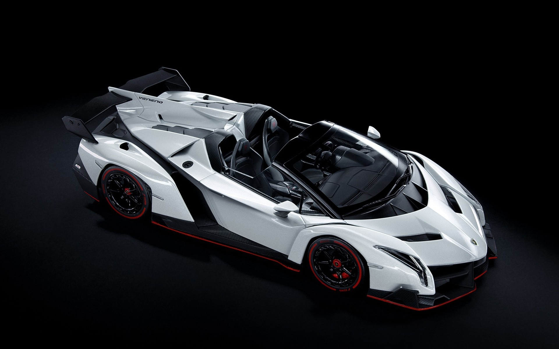 1920x1200 Lamborghini Veneno White Car Wallpaper HD