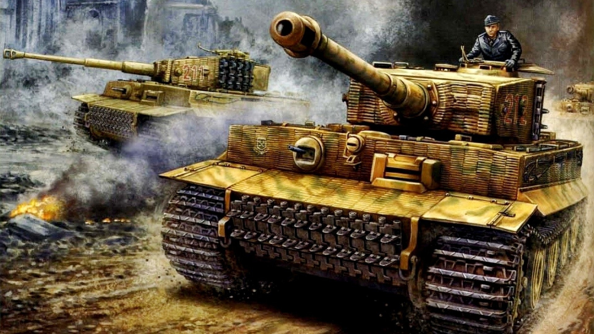 WW2 Tank Wallpapers (76+ images)